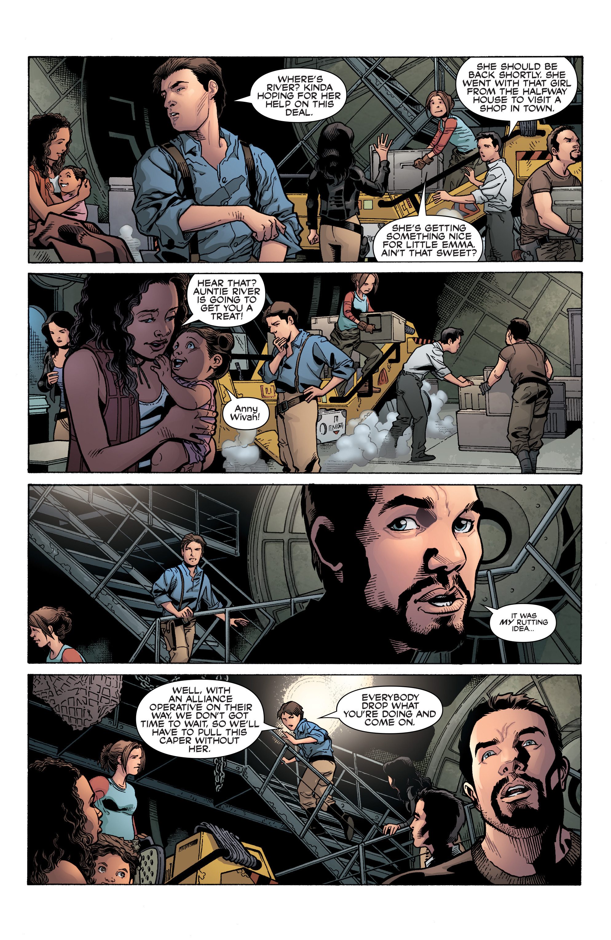 Read online Serenity: Firefly Class 03-K64 – No Power in the 'Verse comic -  Issue #3 - 10