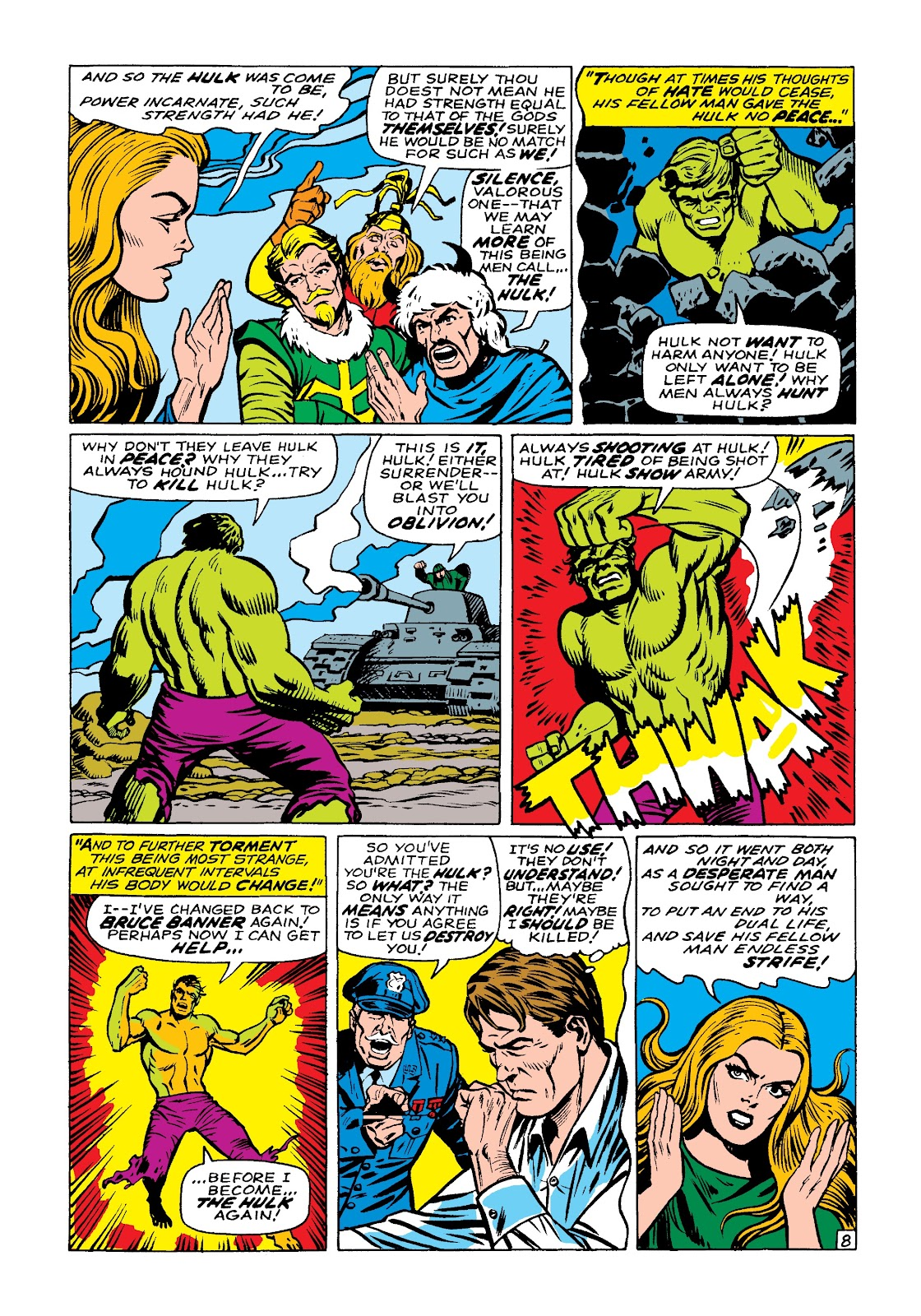 Read online Marvel Masterworks: The Incredible Hulk comic -  Issue # TPB 3 (Part 3) - 71