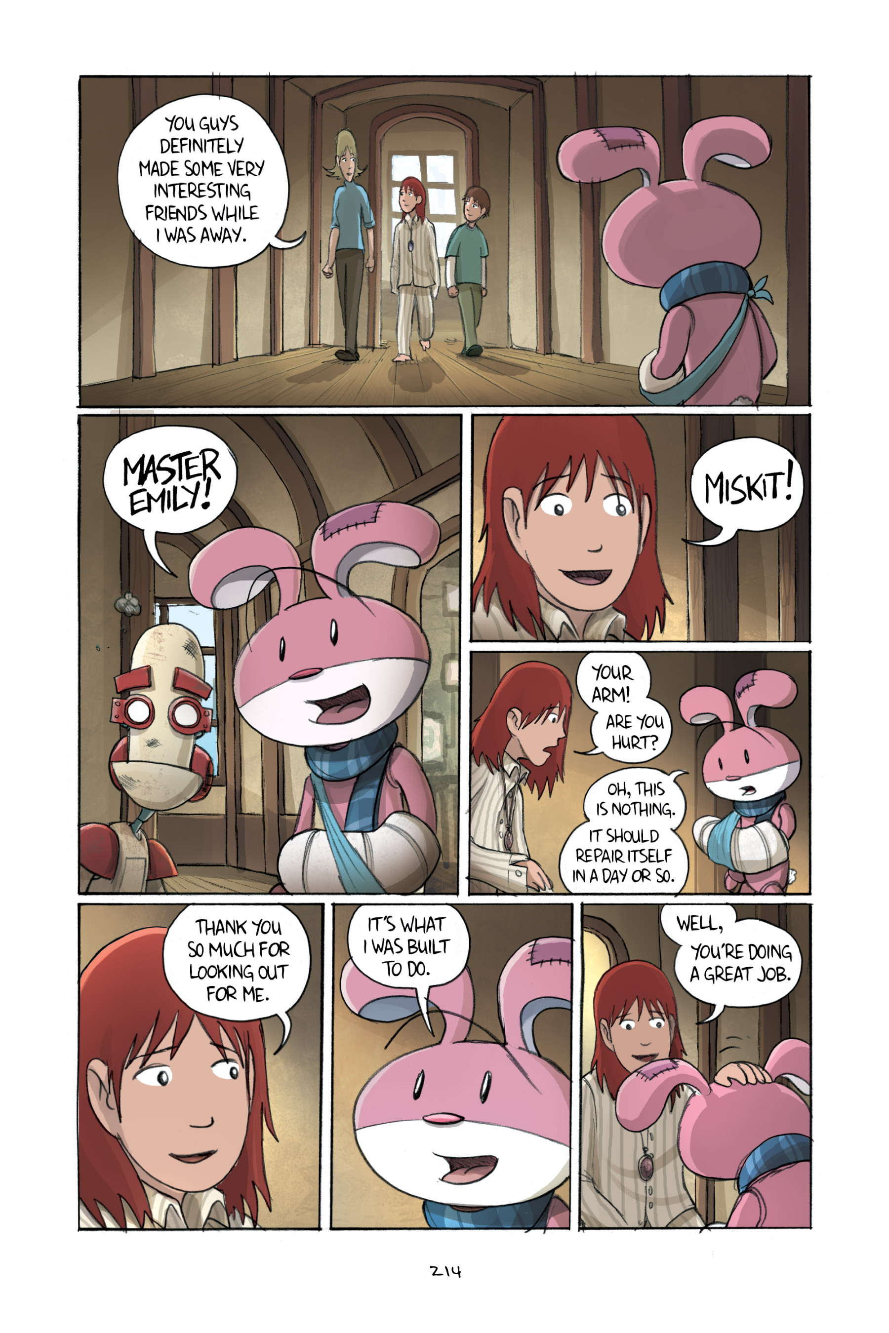 Read online Amulet comic -  Issue #2 - 211