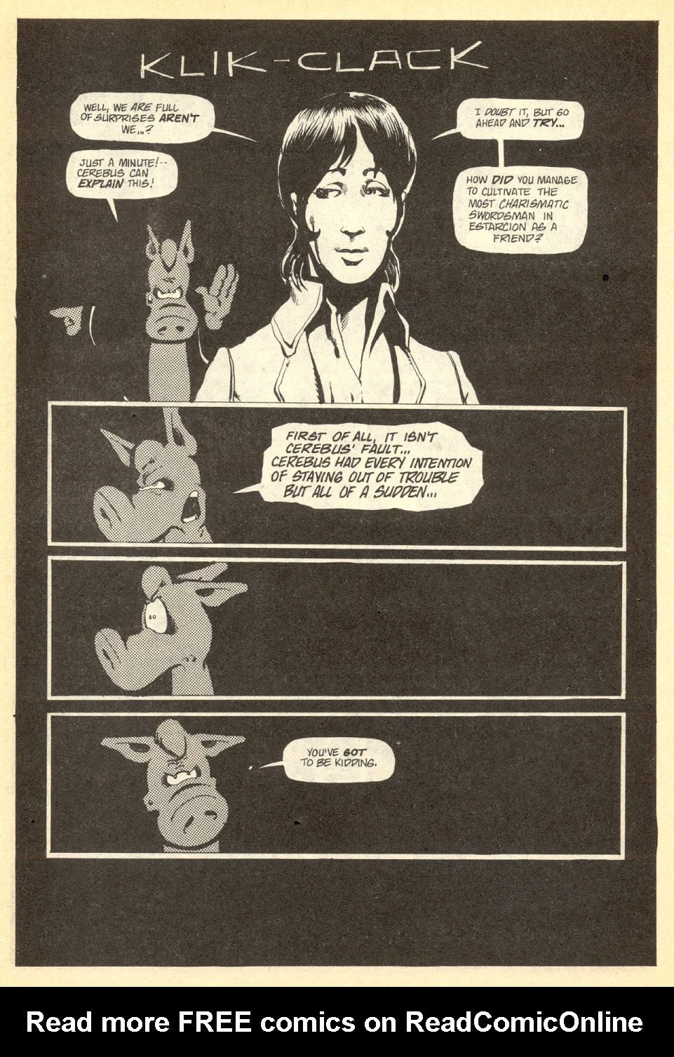 Cerebus Issue #34 #34 - English 14