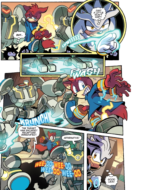 Read online Sonic Comics Spectacular: Speed of Sound comic -  Issue # Full - 106