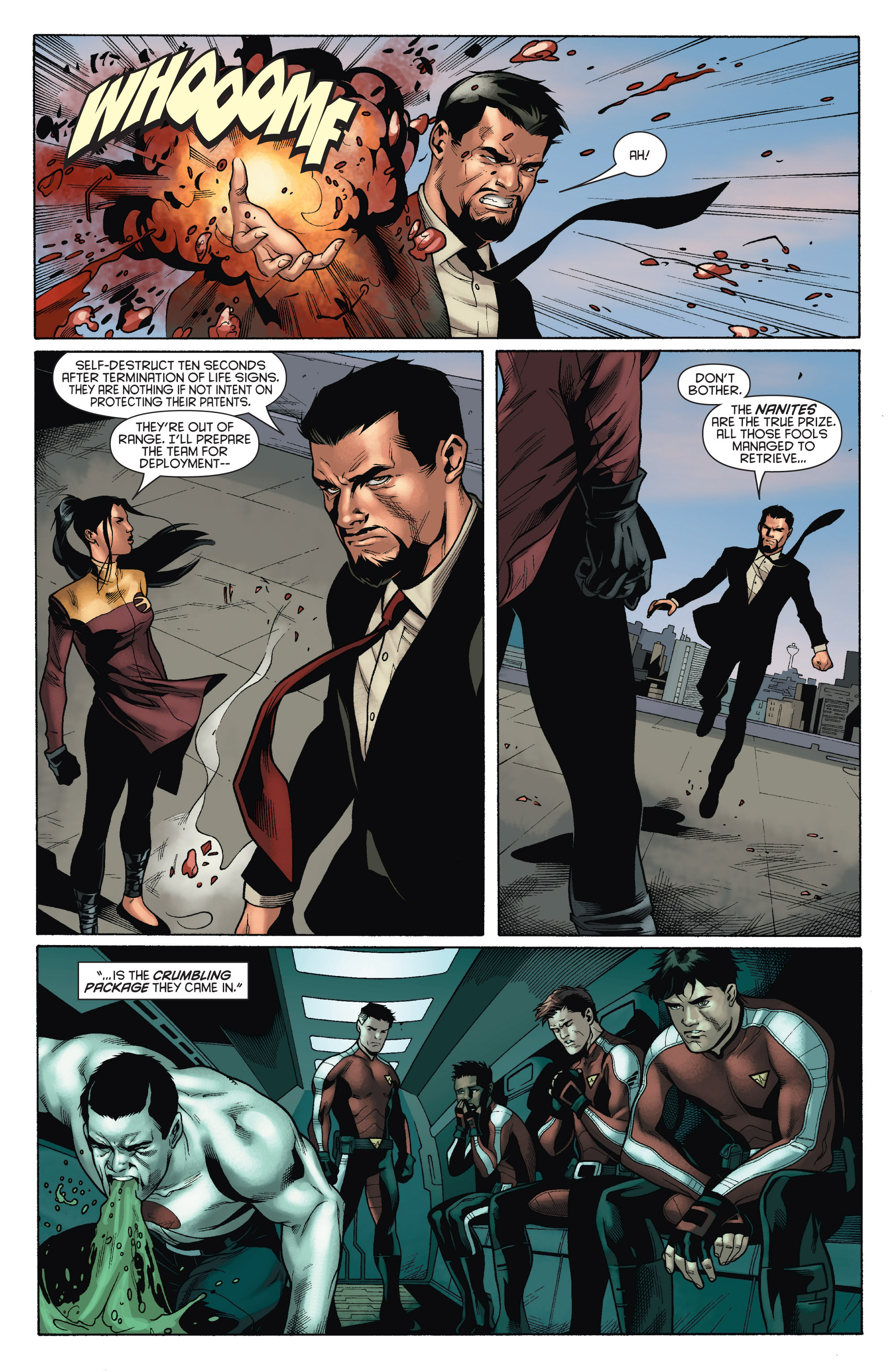 Read online Bloodshot and H.A.R.D.Corps comic -  Issue # TPB 4 - 41