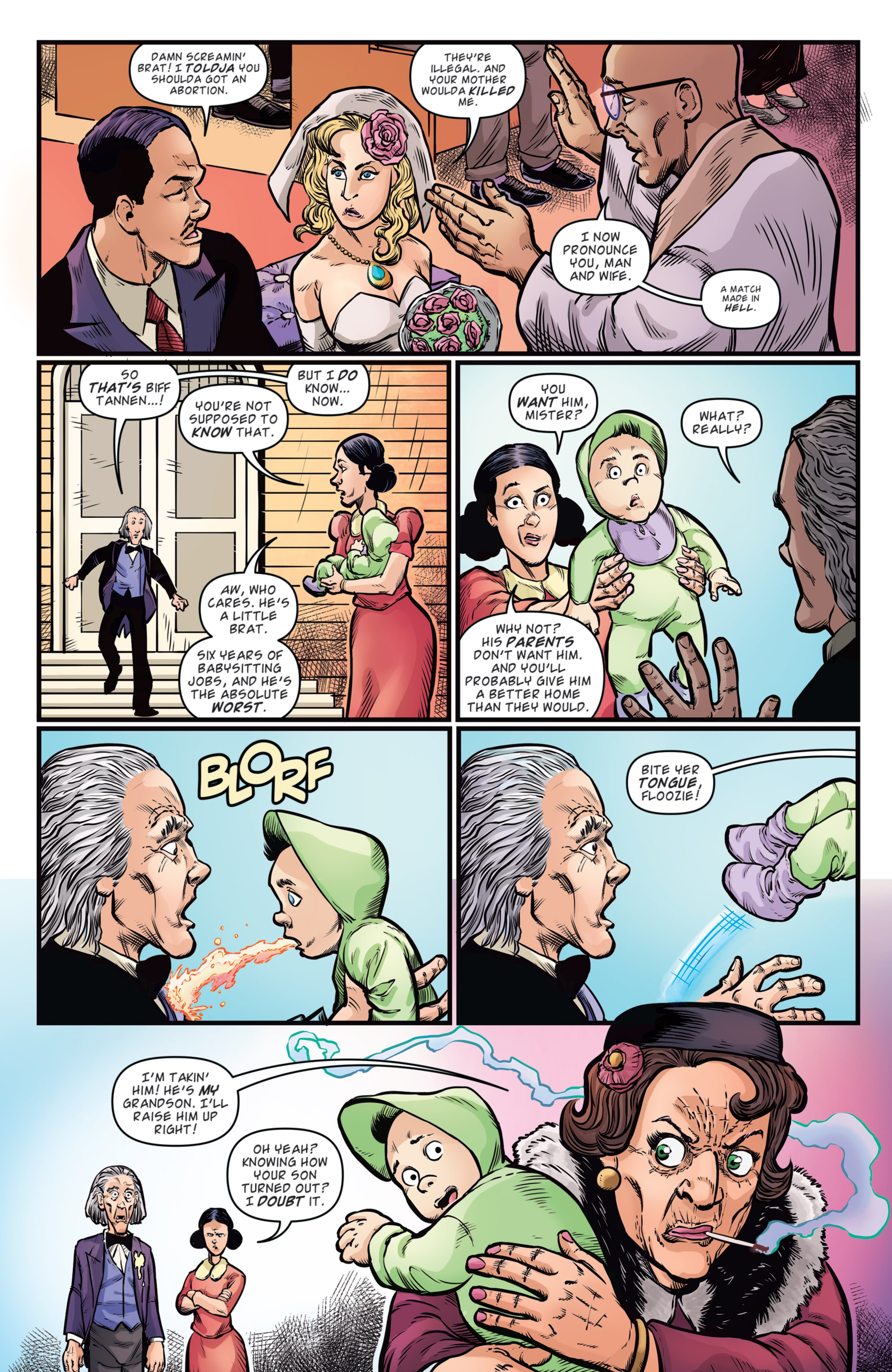 Read online Back to the Future: Biff to the Future comic -  Issue #5 - 19