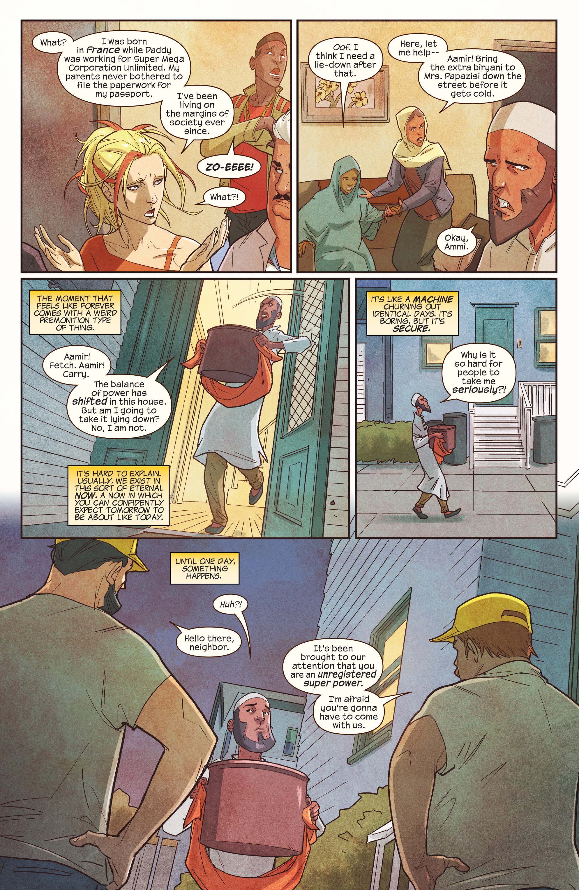 Read online Ms. Marvel (2016) comic -  Issue #19 - 21