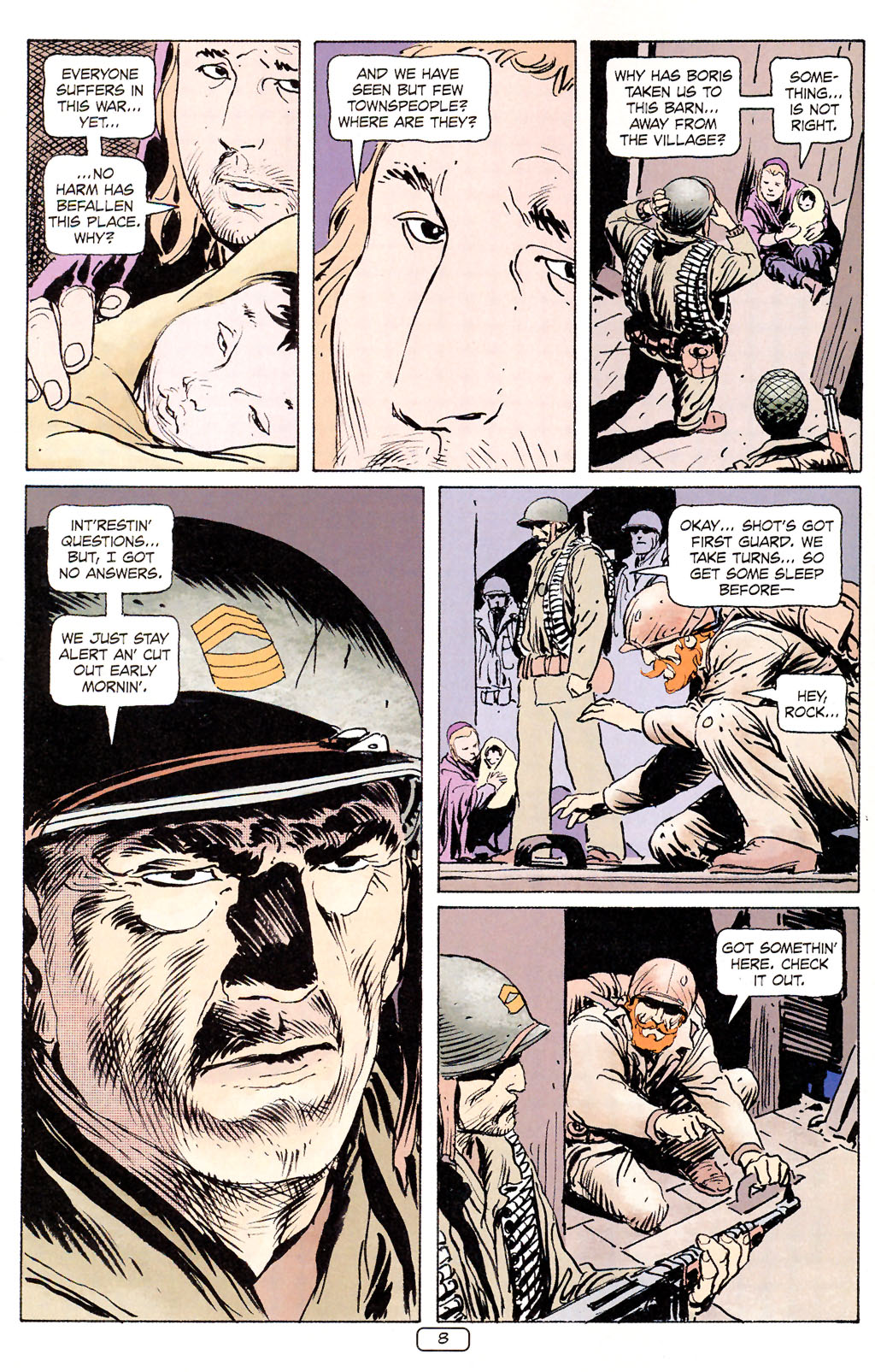 Read online Sgt. Rock: The Prophecy comic -  Issue #5 - 8