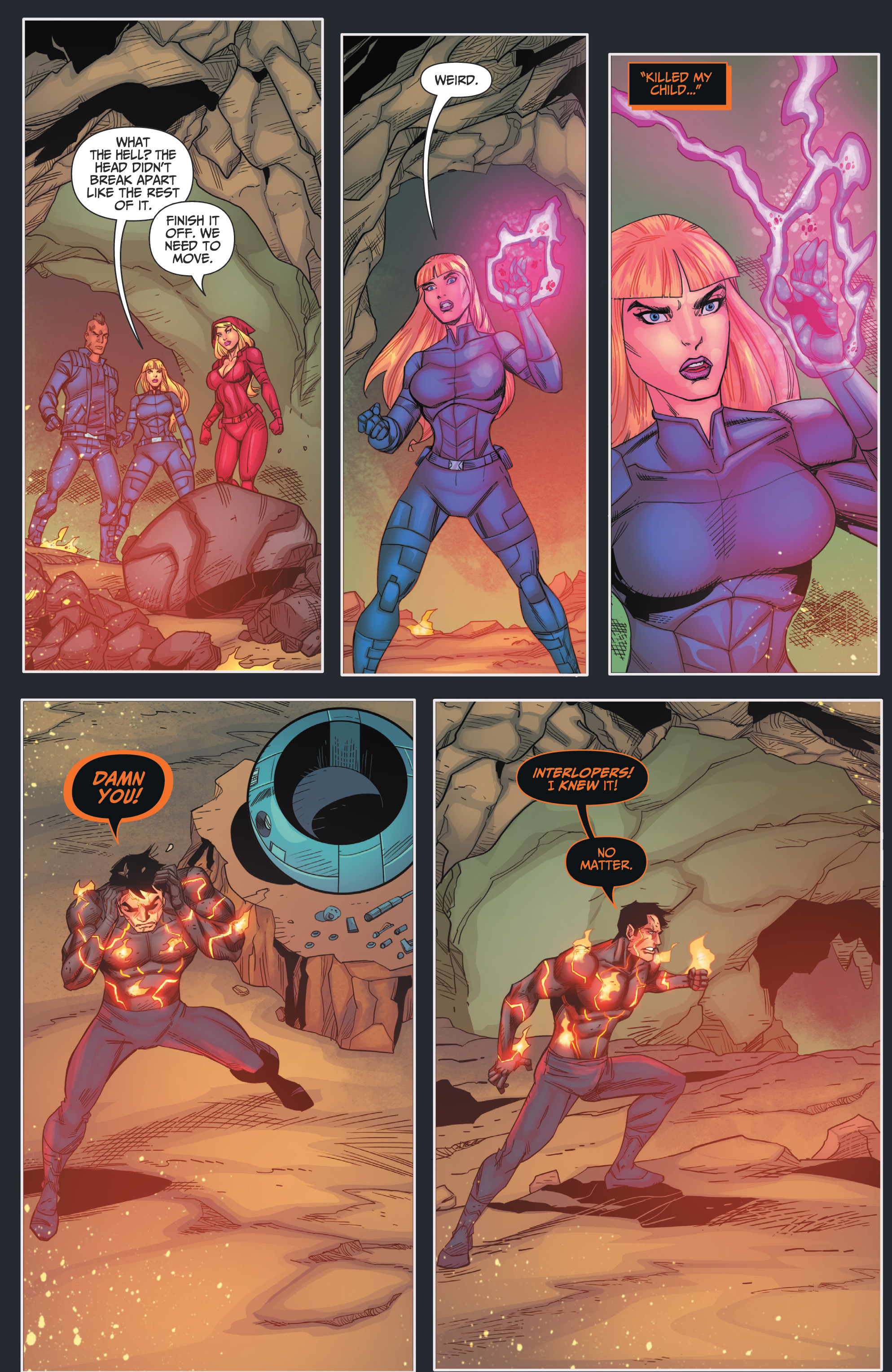 Read online Grimm Fairy Tales presents Red Agent: The Human Order comic -  Issue #7 - 12