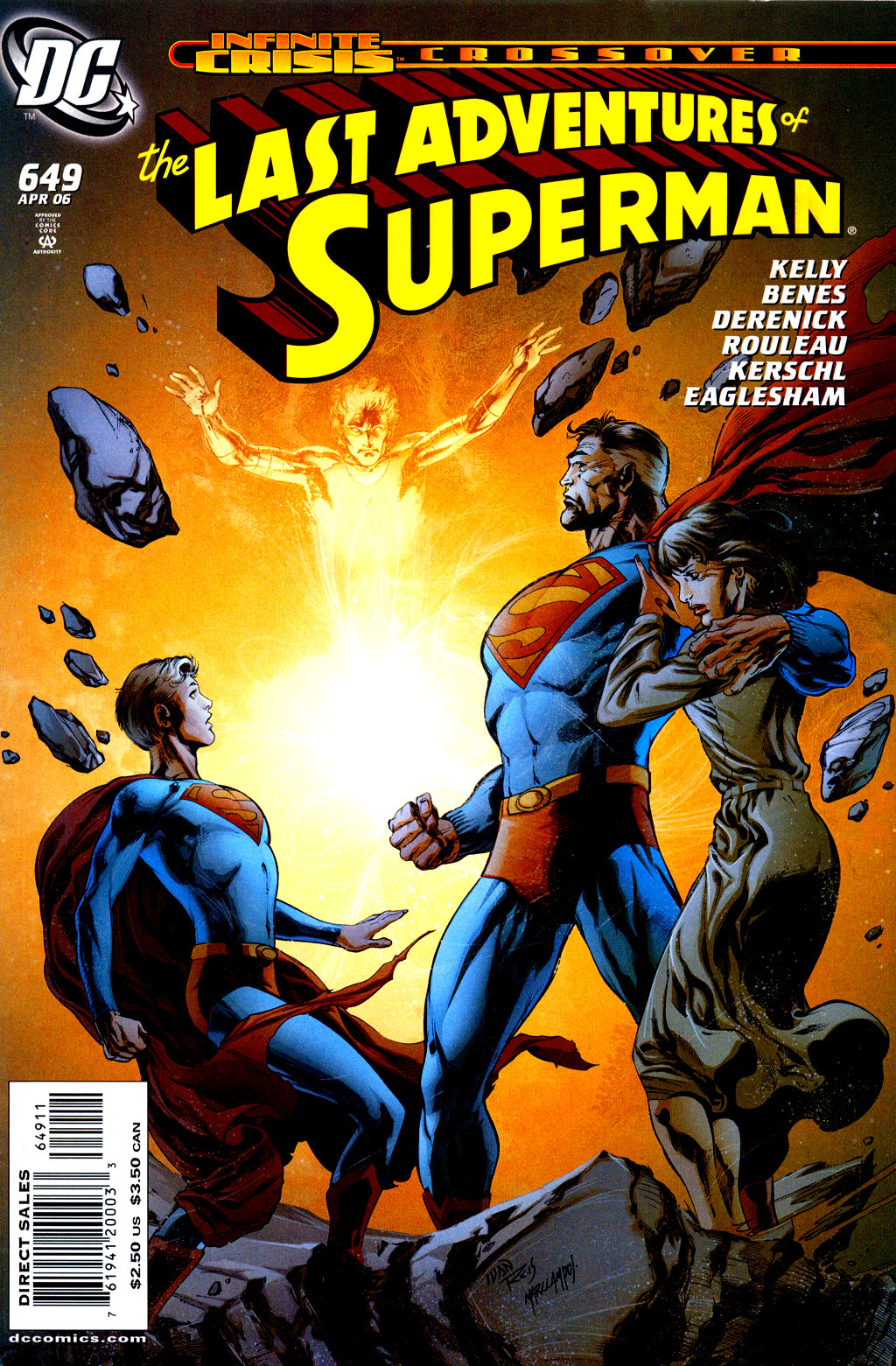 Read online Adventures of Superman (1987) comic -  Issue #649 - 1