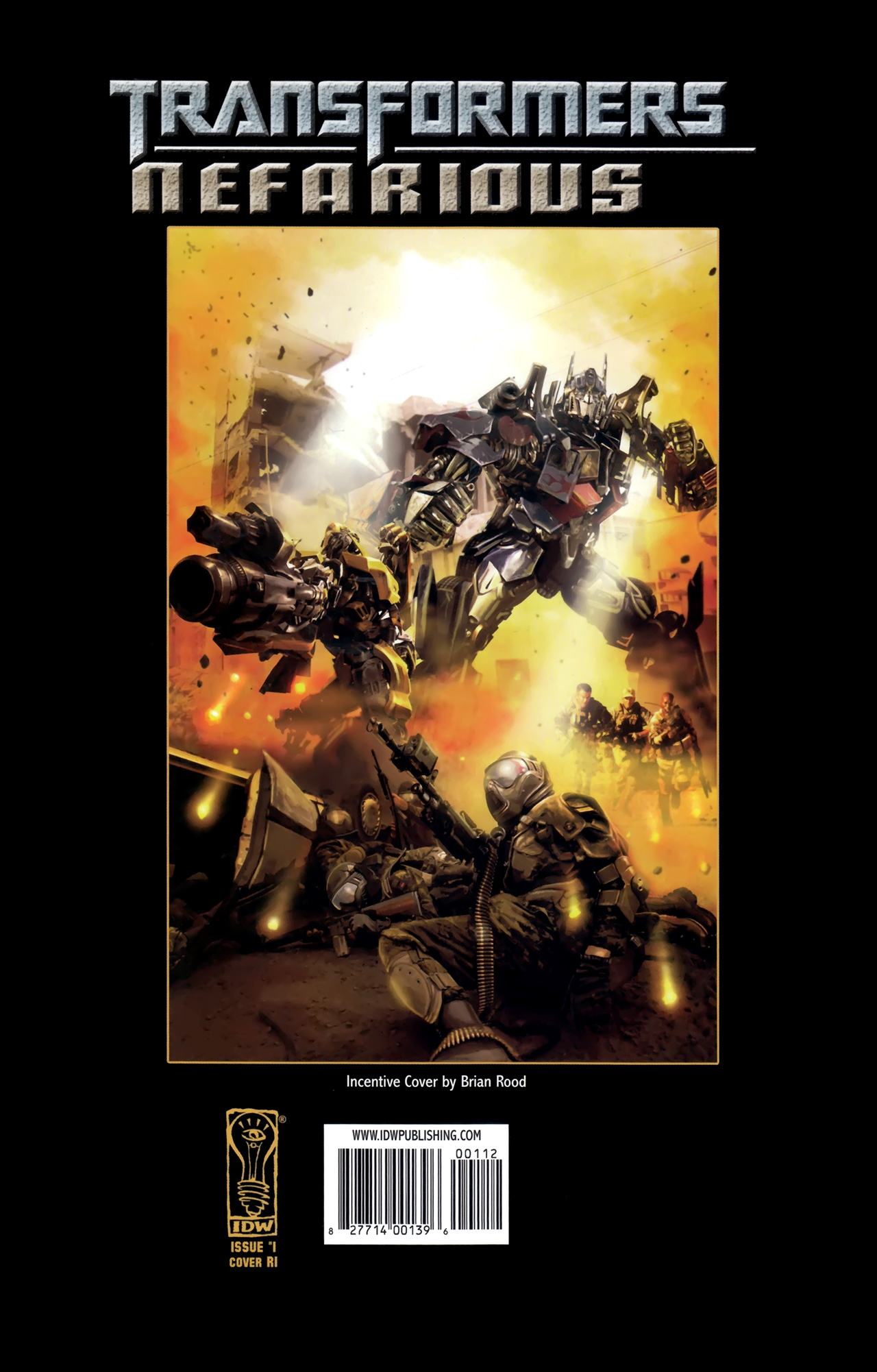 Read online Transformers: Nefarious comic -  Issue #1 - 29
