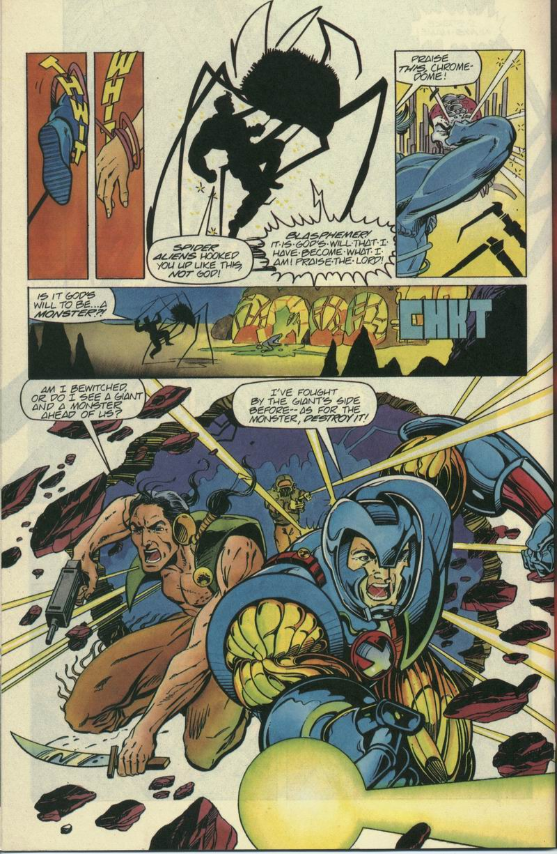 Read online Secret Weapons comic -  Issue #7 - 16