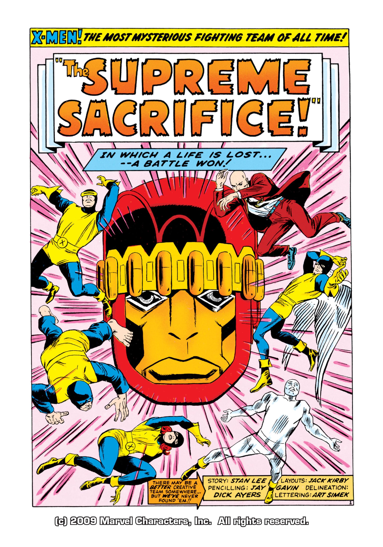 Read online Uncanny X-Men (1963) comic -  Issue #16 - 2