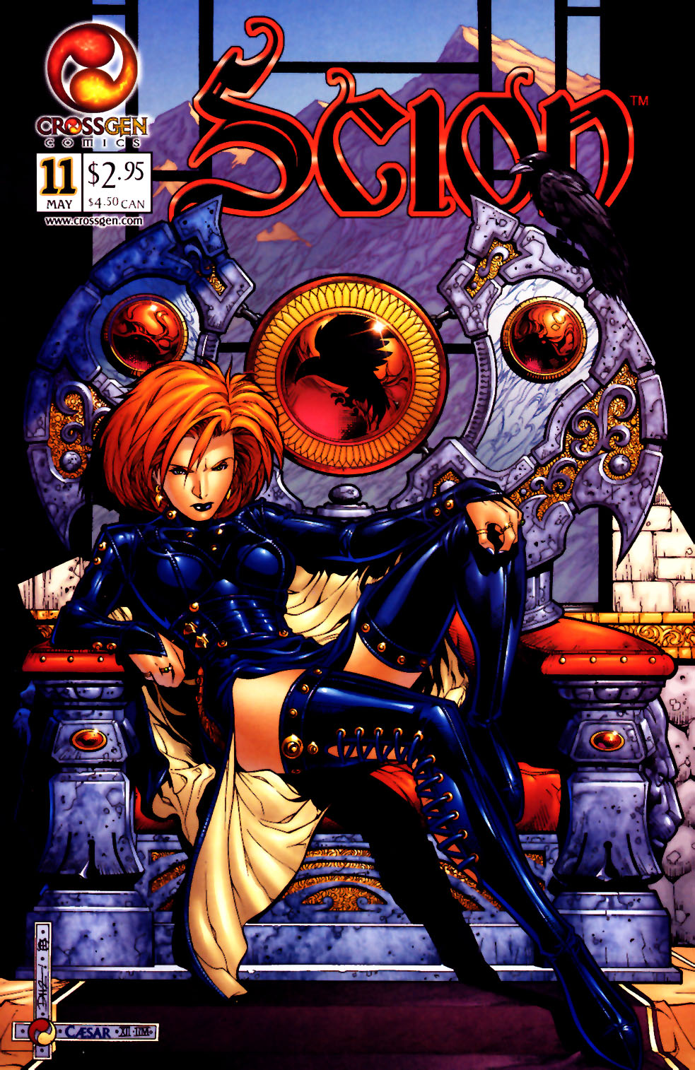 Read online Scion comic -  Issue #11 - 1
