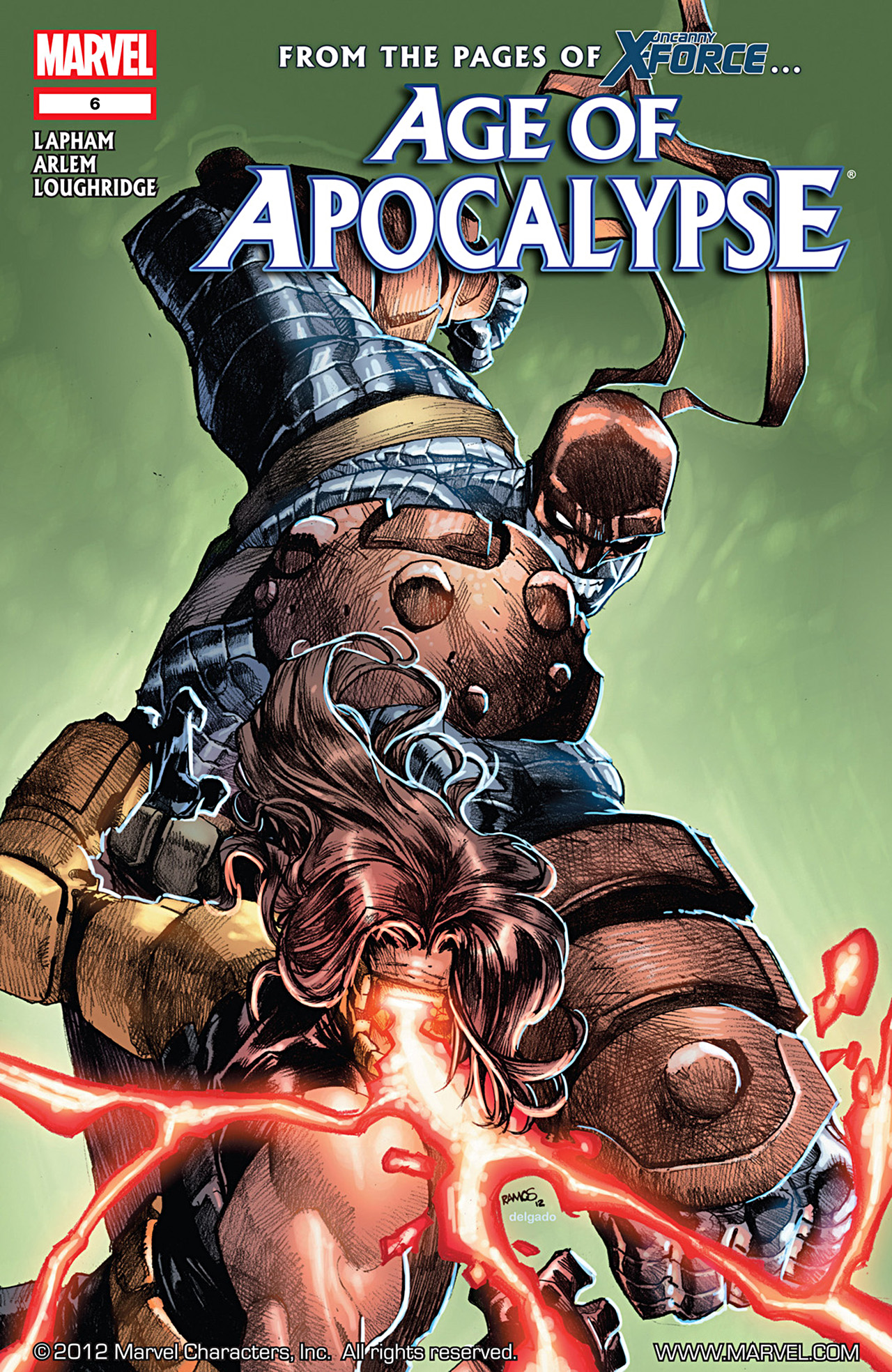 Age of Apocalypse (2012) 6 Page 1