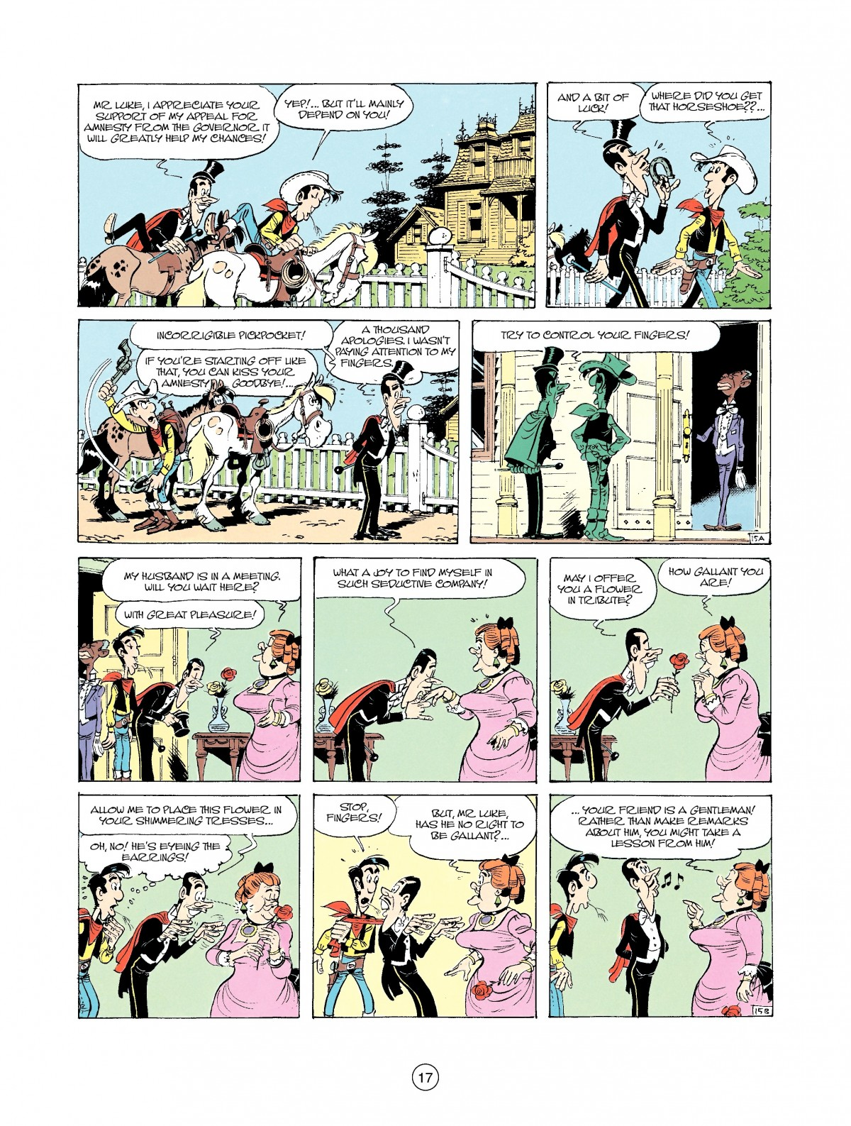 Read online A Lucky Luke Adventure comic -  Issue #37 - 17