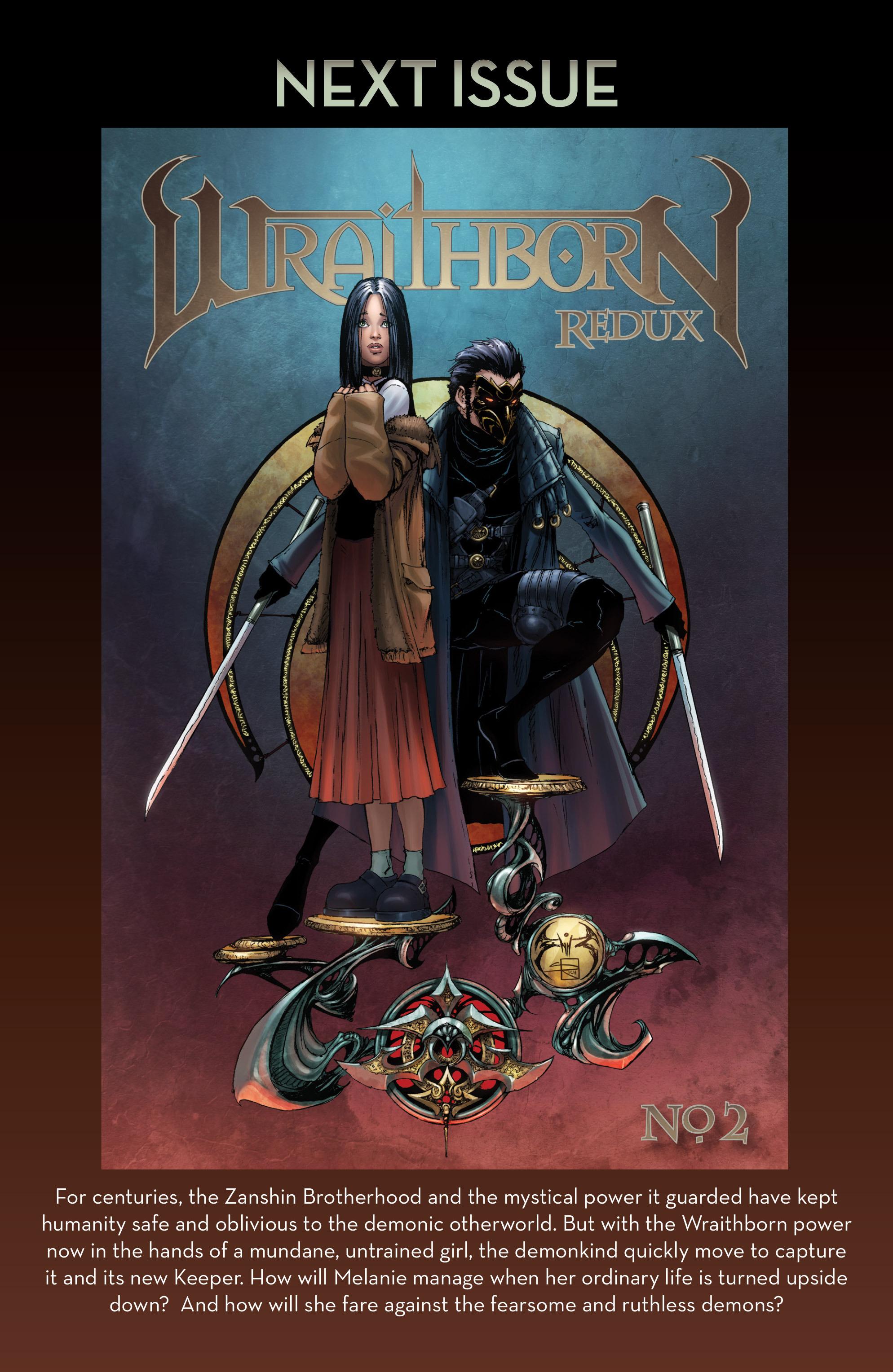 Read online Wraithborn Redux comic -  Issue #1 - 29