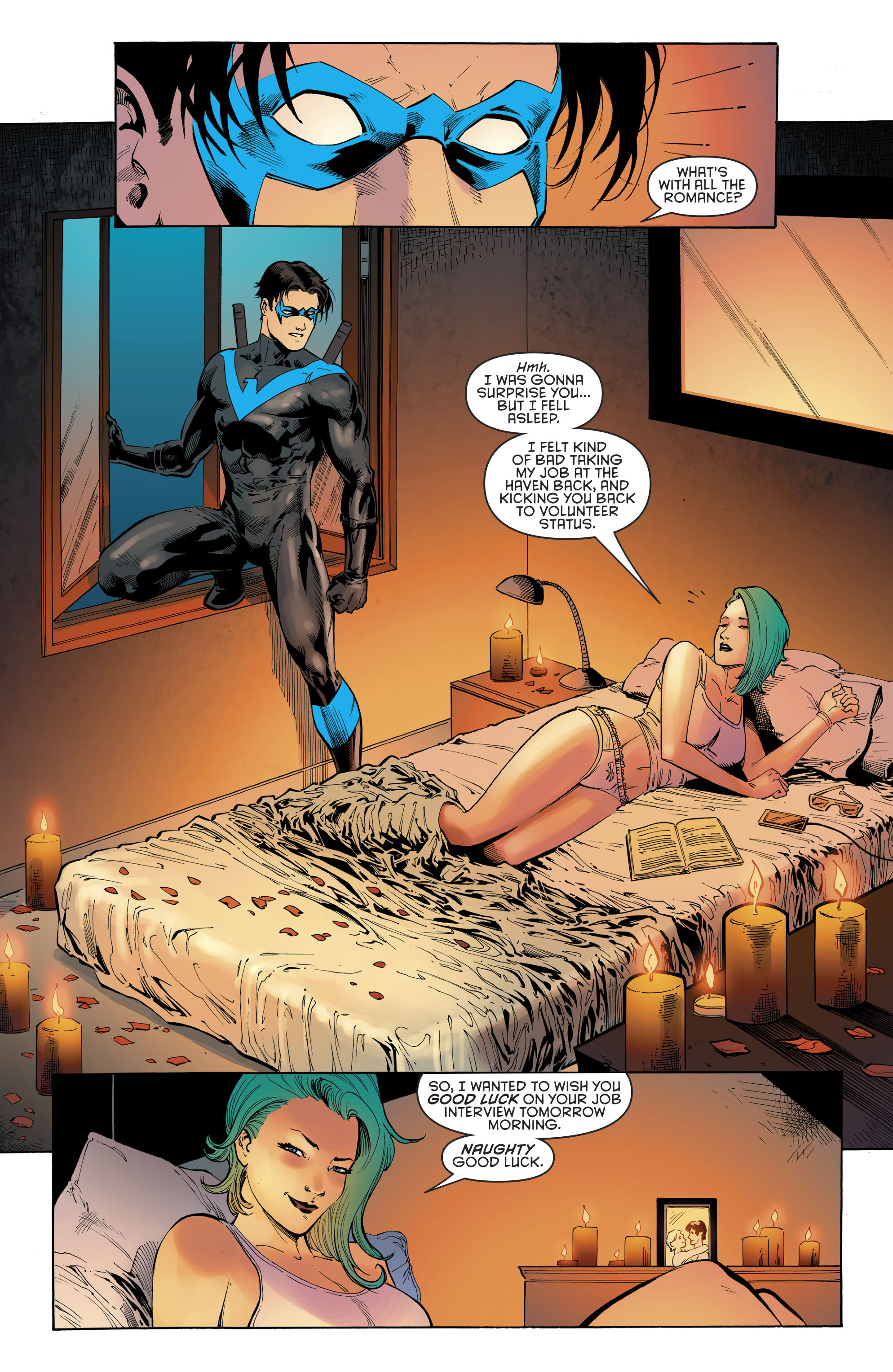 Read online Nightwing (2016) comic -  Issue #22 - 11