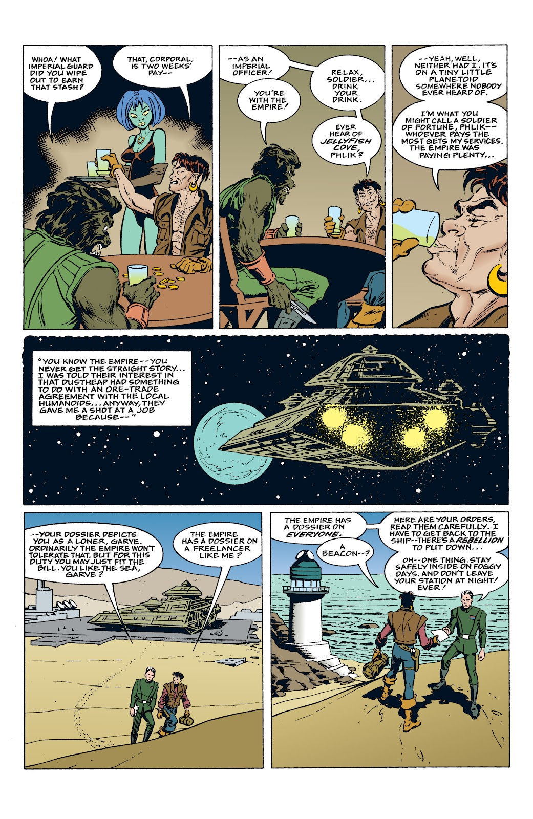 Read online Star Wars: Tales from Mos Eisley comic -  Issue # Full - 4