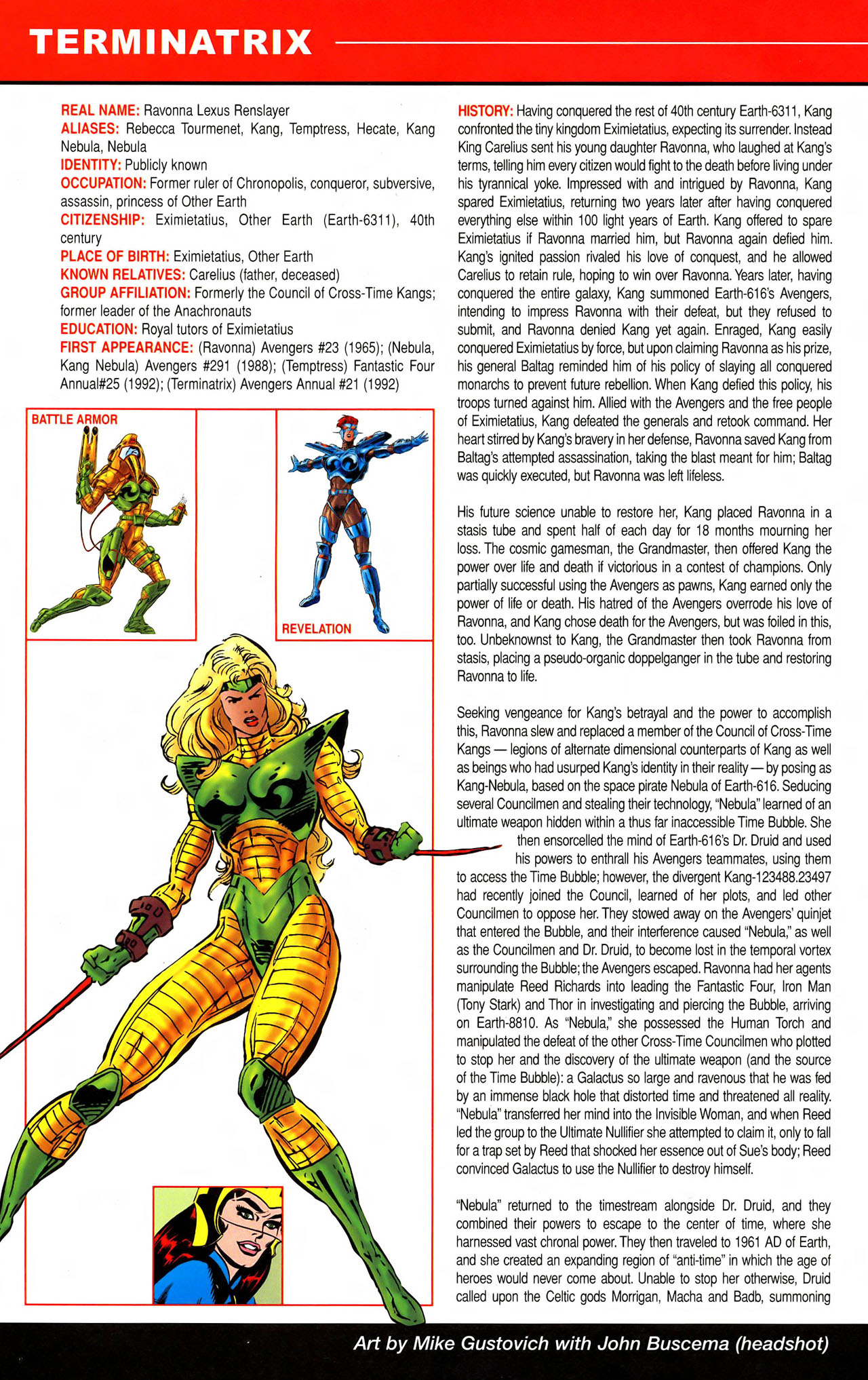 Read online All-New Official Handbook of the Marvel Universe A to Z comic -  Issue #11 - 26