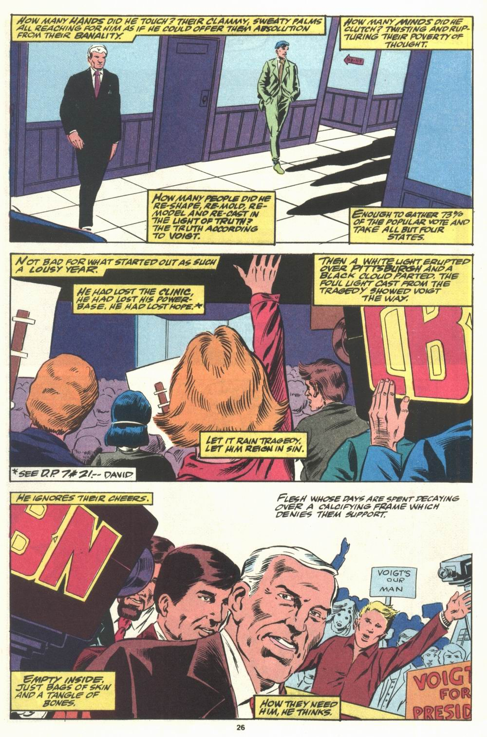 Read online Justice (1986) comic -  Issue #29 - 27