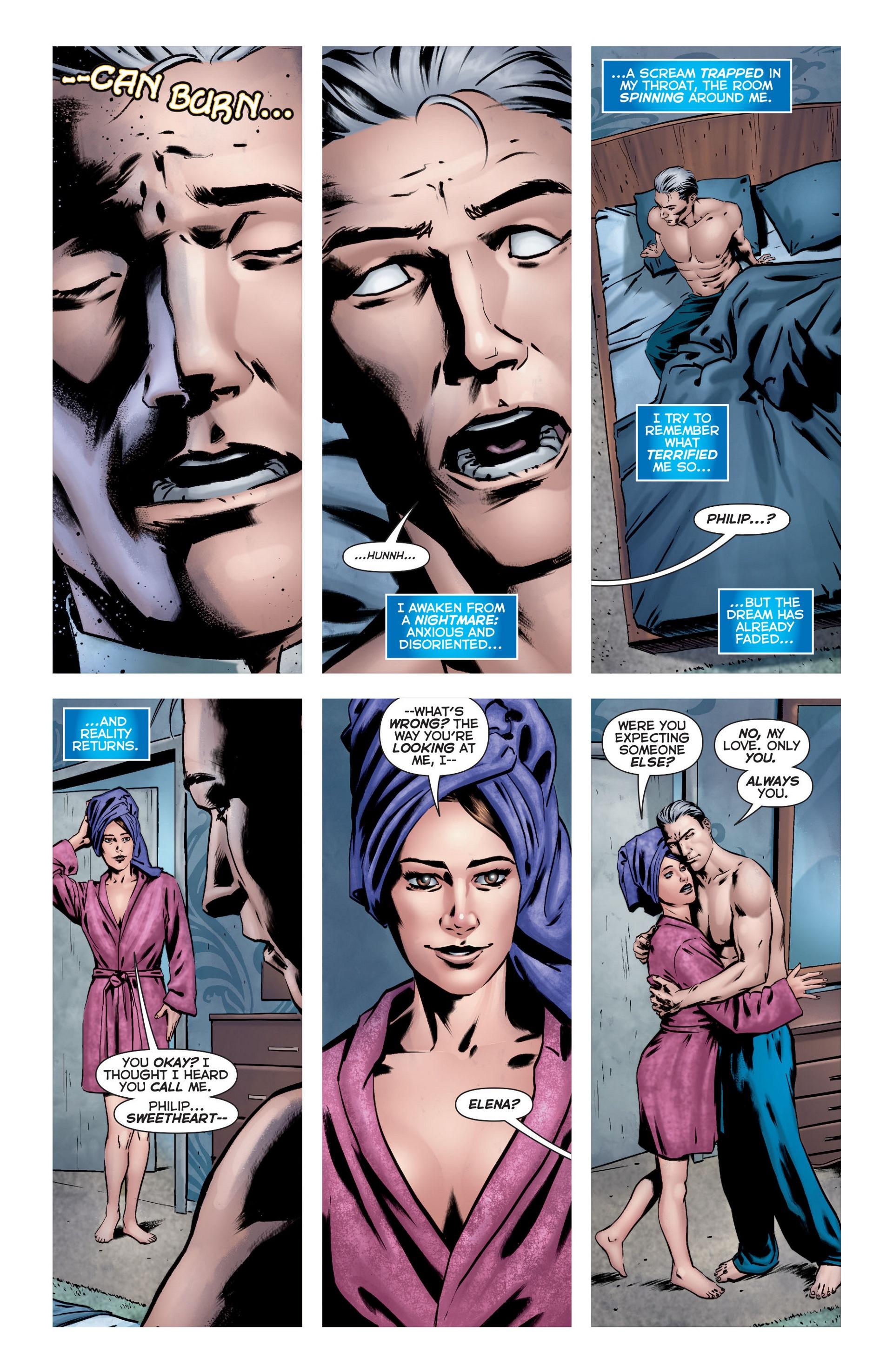 Read online Trinity of Sin: The Phantom Stranger comic -  Issue #22 - 6