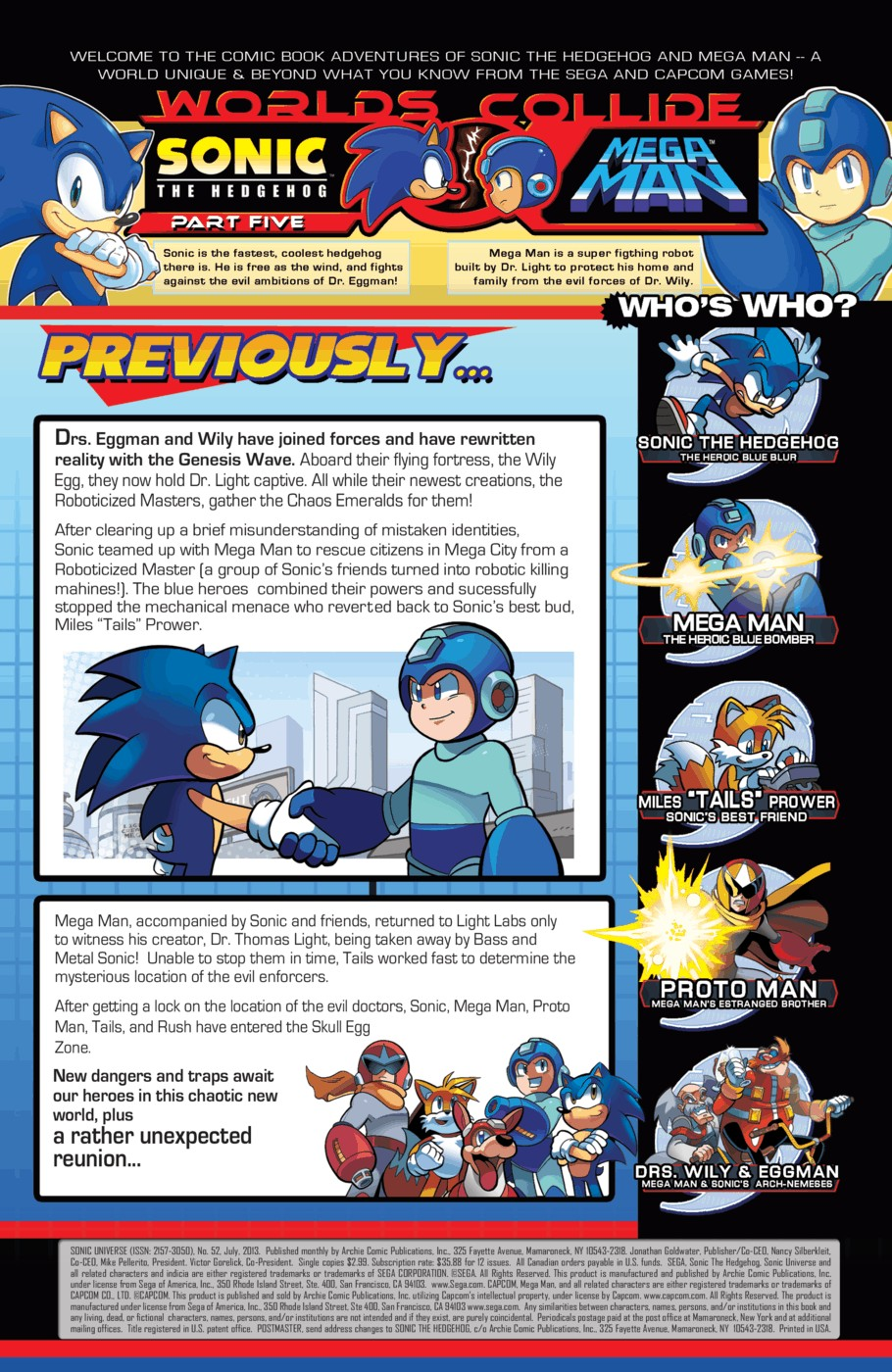 Read online Sonic Universe comic -  Issue #52 - 2