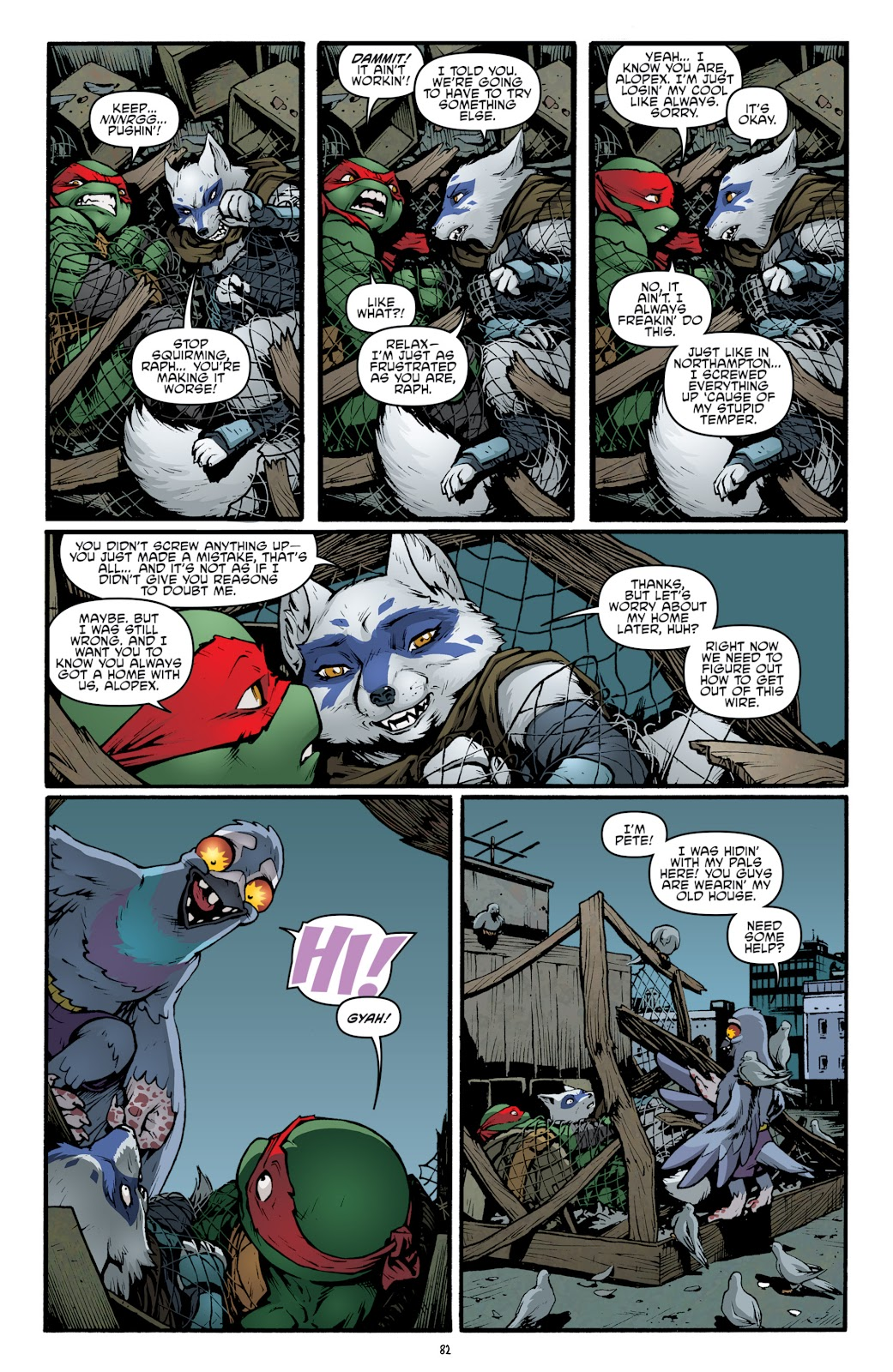 Read online Teenage Mutant Ninja Turtles: The IDW Collection comic -  Issue # TPB 5 (Part 2) - 60