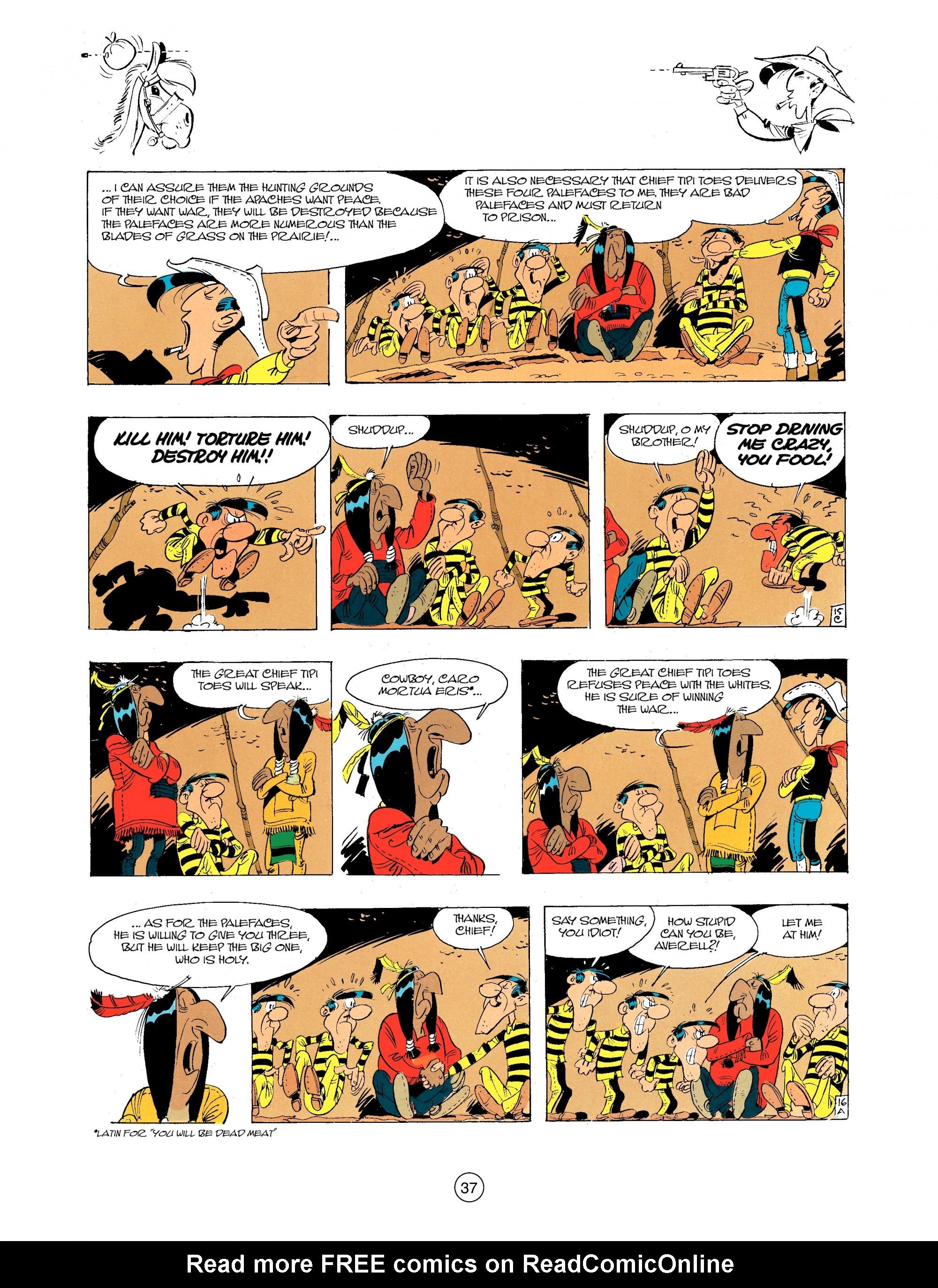 Read online A Lucky Luke Adventure comic -  Issue #34 - 37