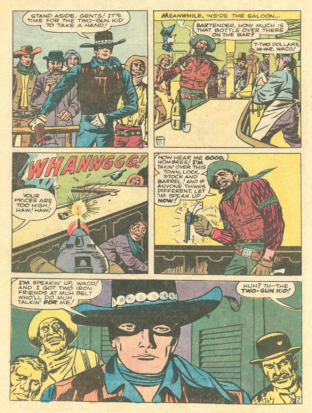 Read online Two-Gun Kid comic -  Issue #101 - 4