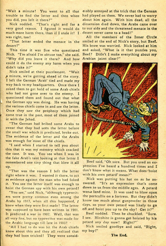 Read online Shadow Comics comic -  Issue #51 - 36