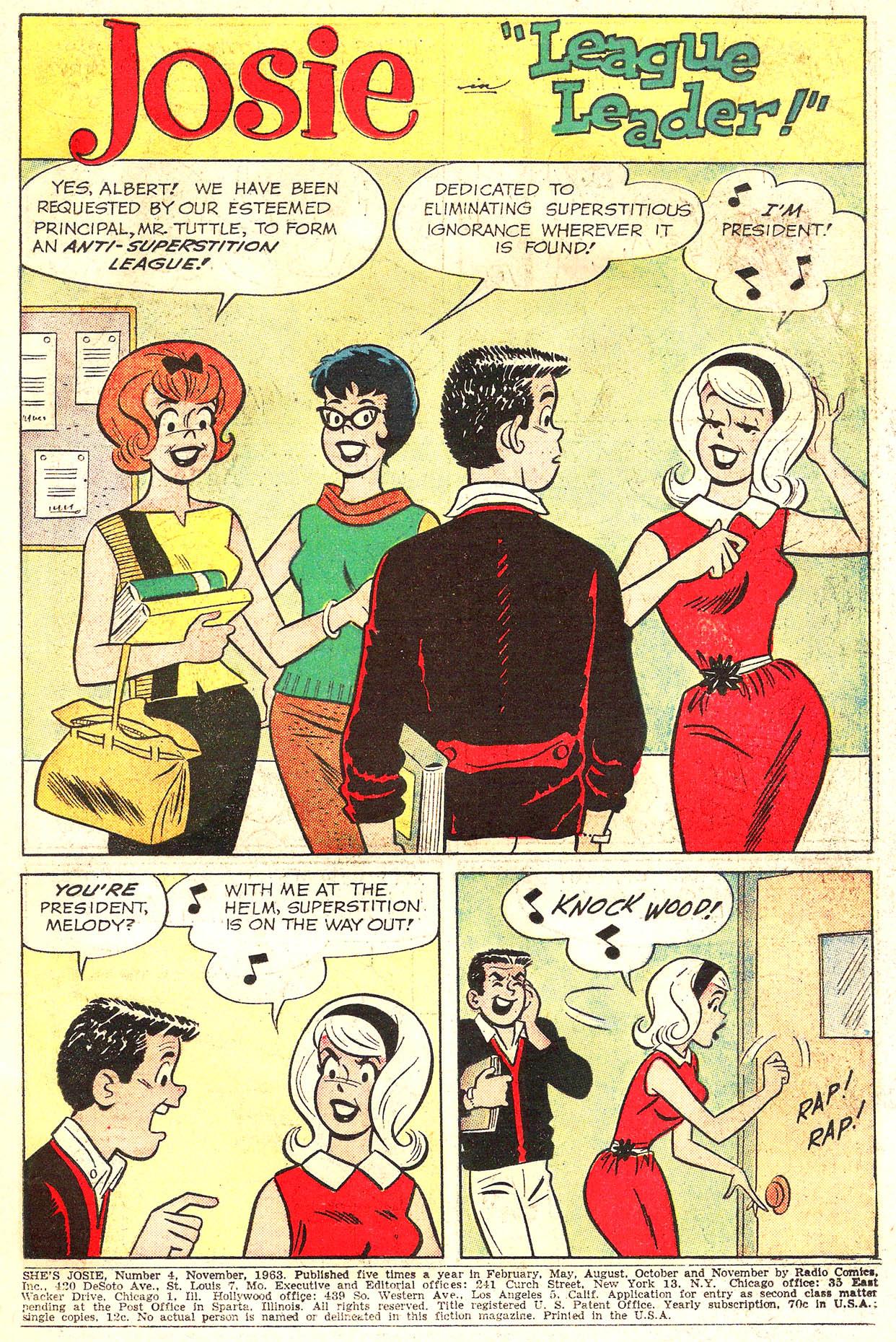 Read online She's Josie comic -  Issue #4 - 3