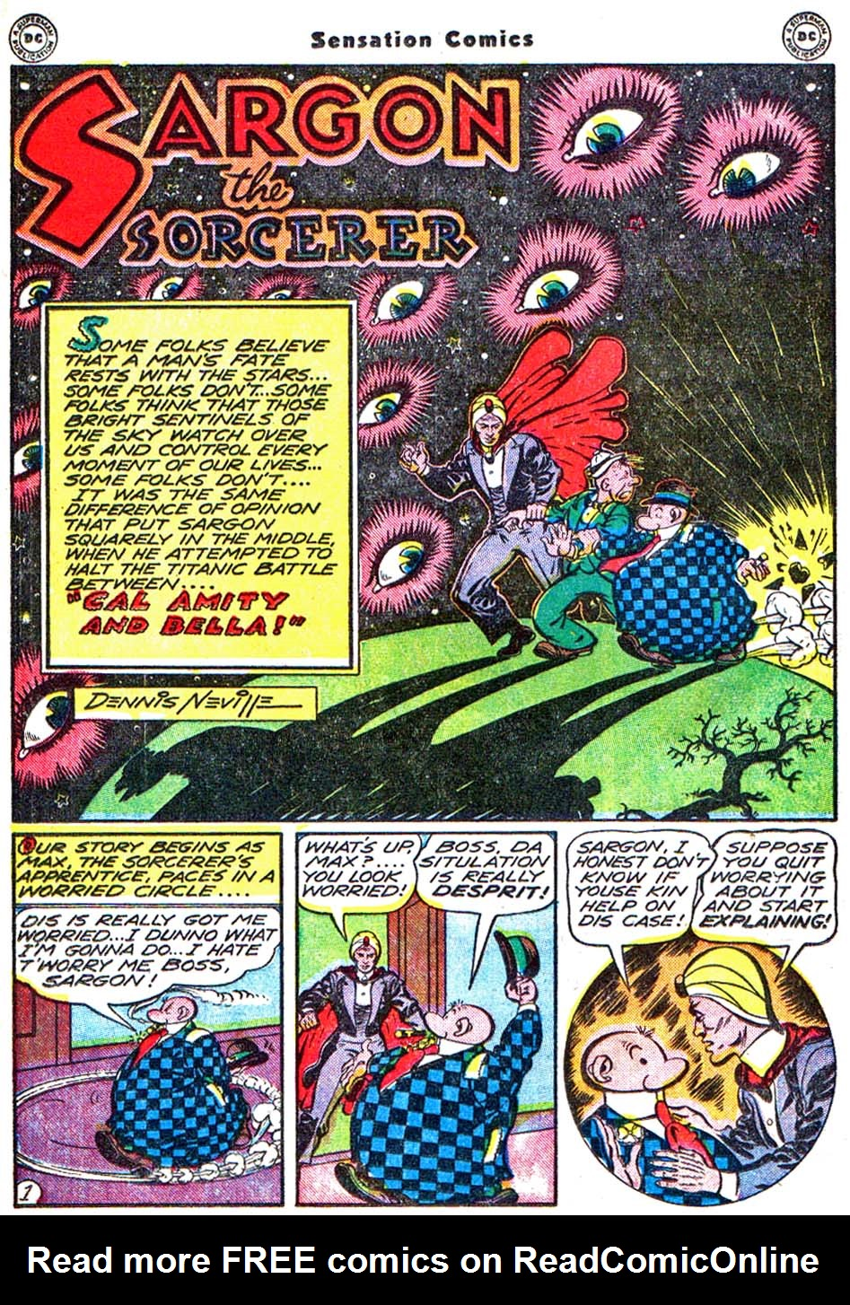 Read online Sensation (Mystery) Comics comic -  Issue #54 - 25