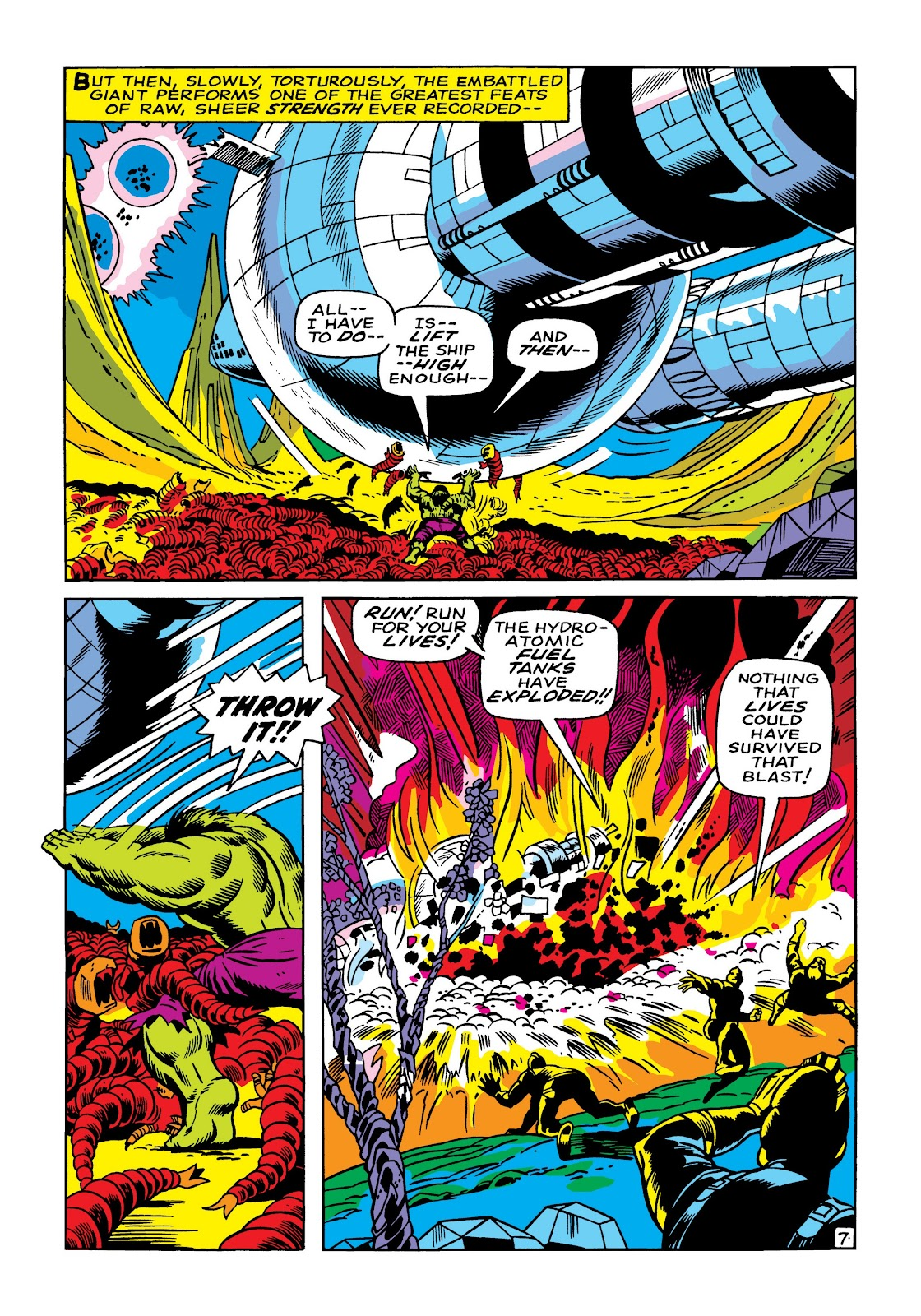 Read online Marvel Masterworks: The Incredible Hulk comic -  Issue # TPB 5 (Part 1) - 34