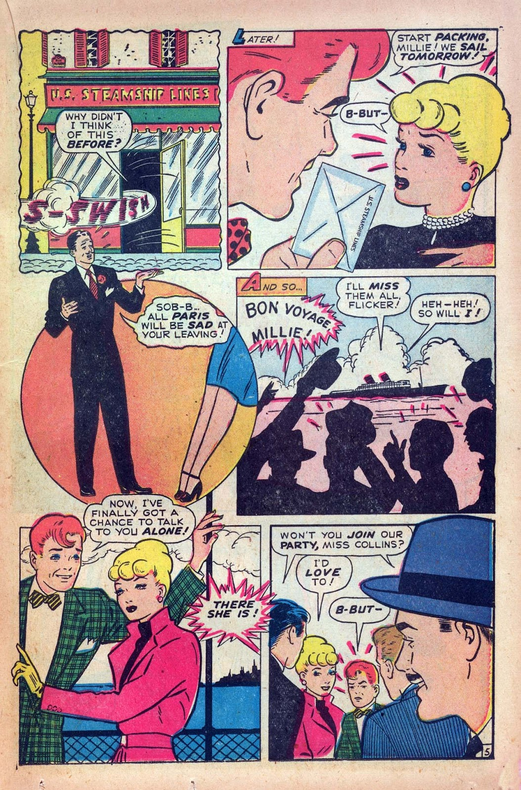 Read online Millie the Model comic -  Issue #9 - 31