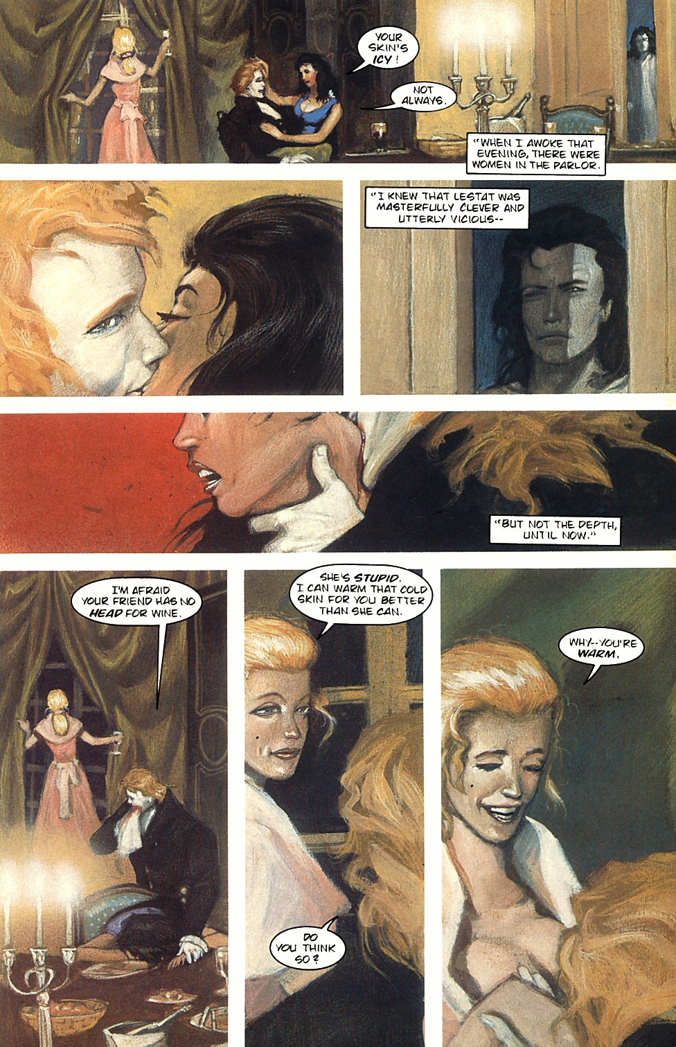 Read online Anne Rice's Interview with the Vampire comic -  Issue #3 - 16