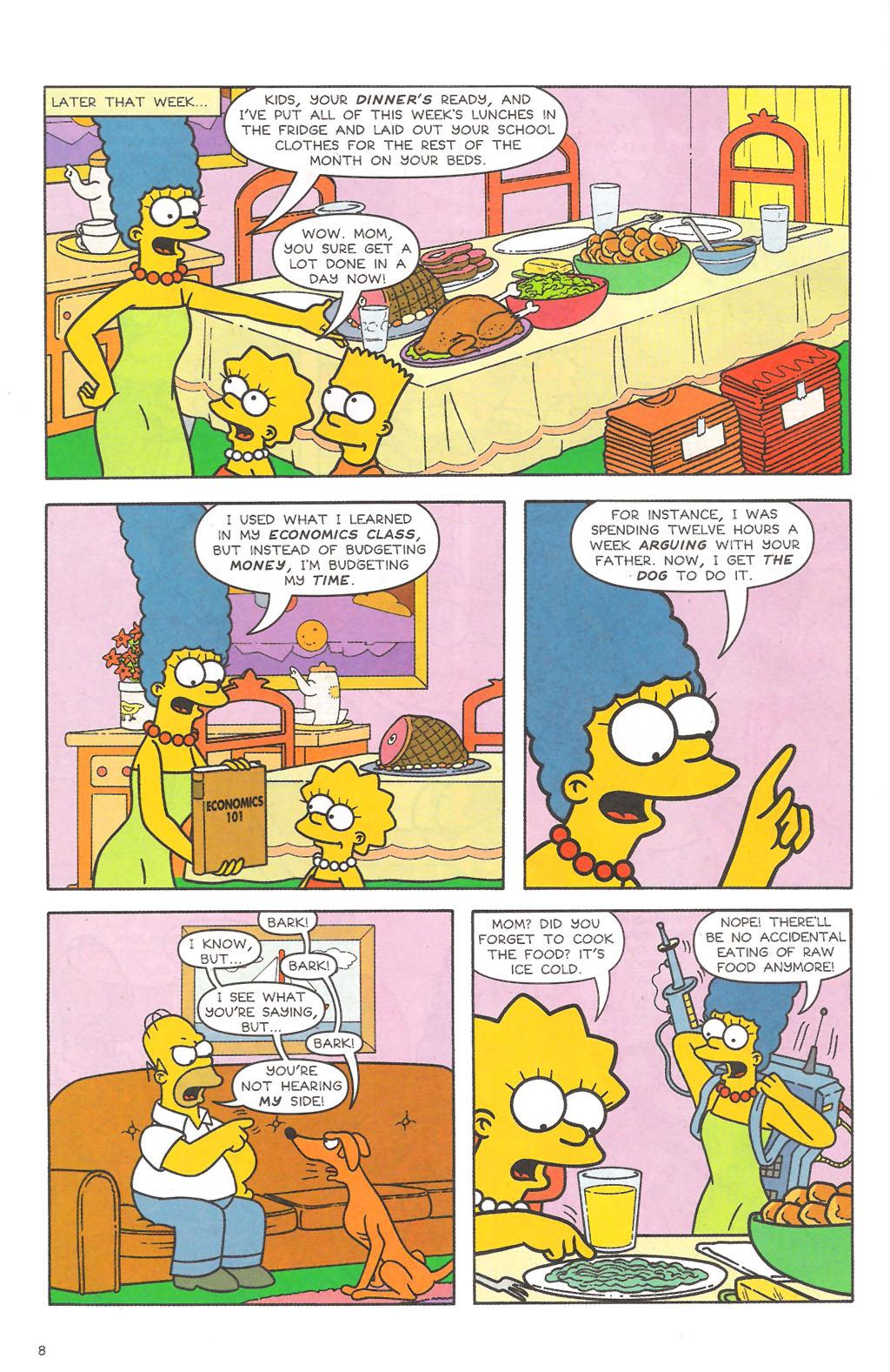 Read online Simpsons Comics comic -  Issue #111 - 9