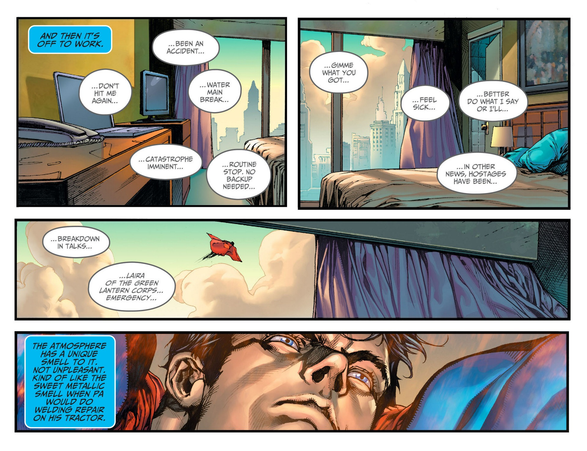 Read online Adventures of Superman [I] comic -  Issue #7 - 5