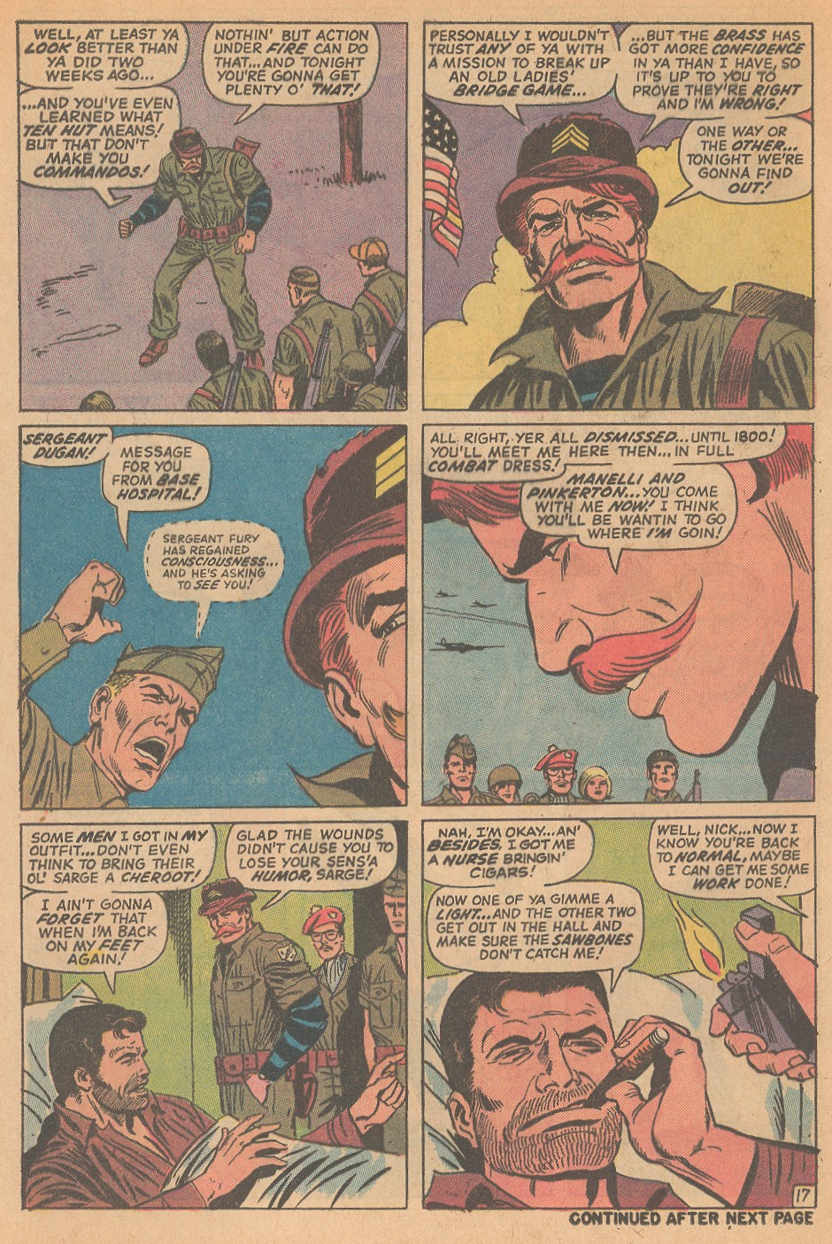 Read online Sgt. Fury comic -  Issue #98 - 24
