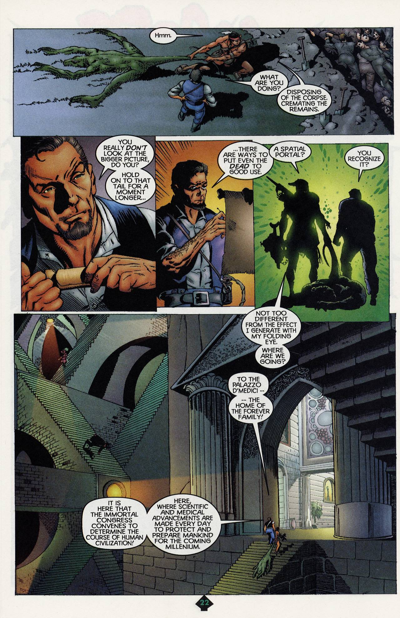 Read online Turok: Tales of the Lost Land comic -  Issue # Full - 20