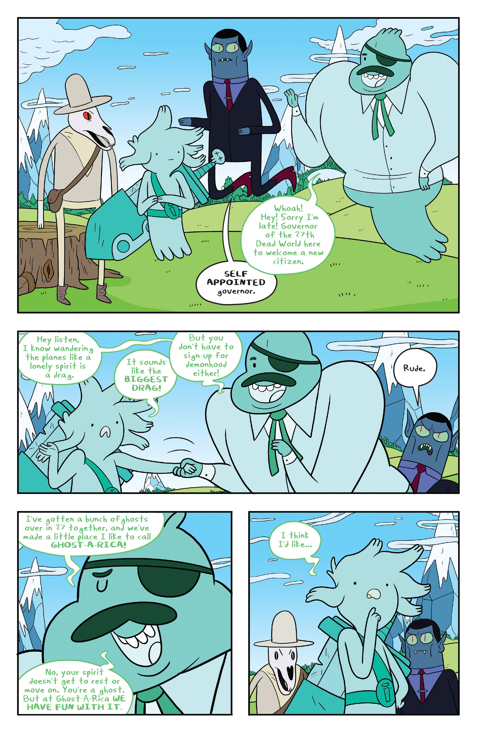 Read online Adventure Time comic -  Issue #53 - 7