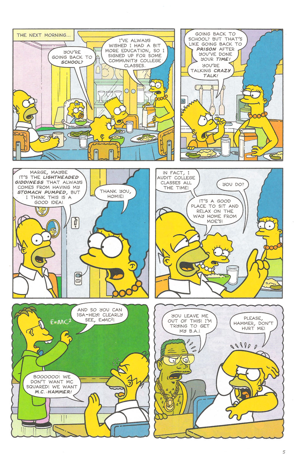 Read online Simpsons Comics comic -  Issue #111 - 6