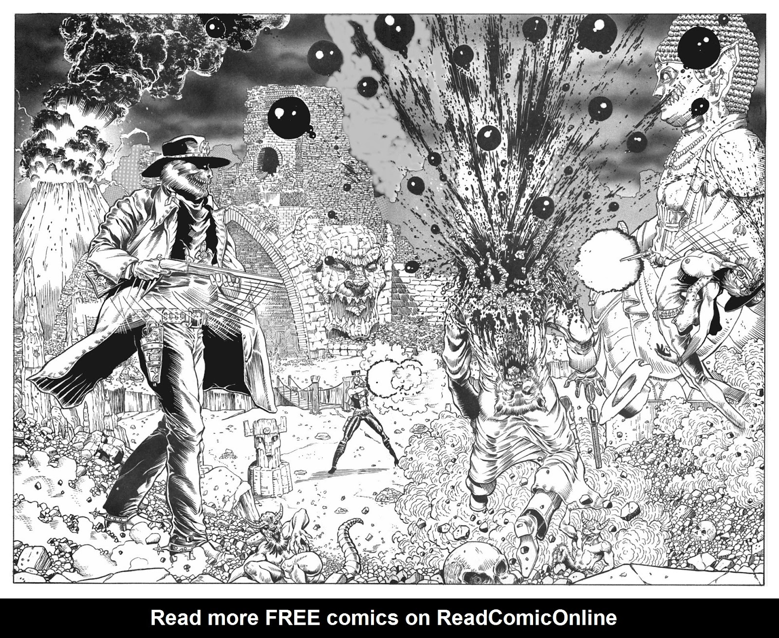 Read online Gunfighters in Hell comic -  Issue #4 - 21
