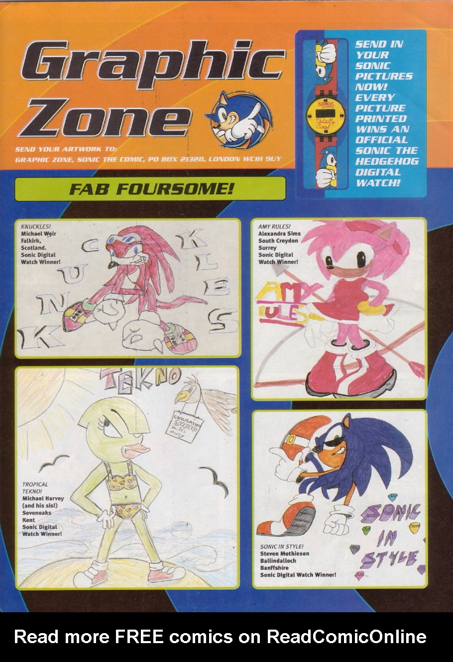 Read online Sonic the Comic comic -  Issue #192 - 2