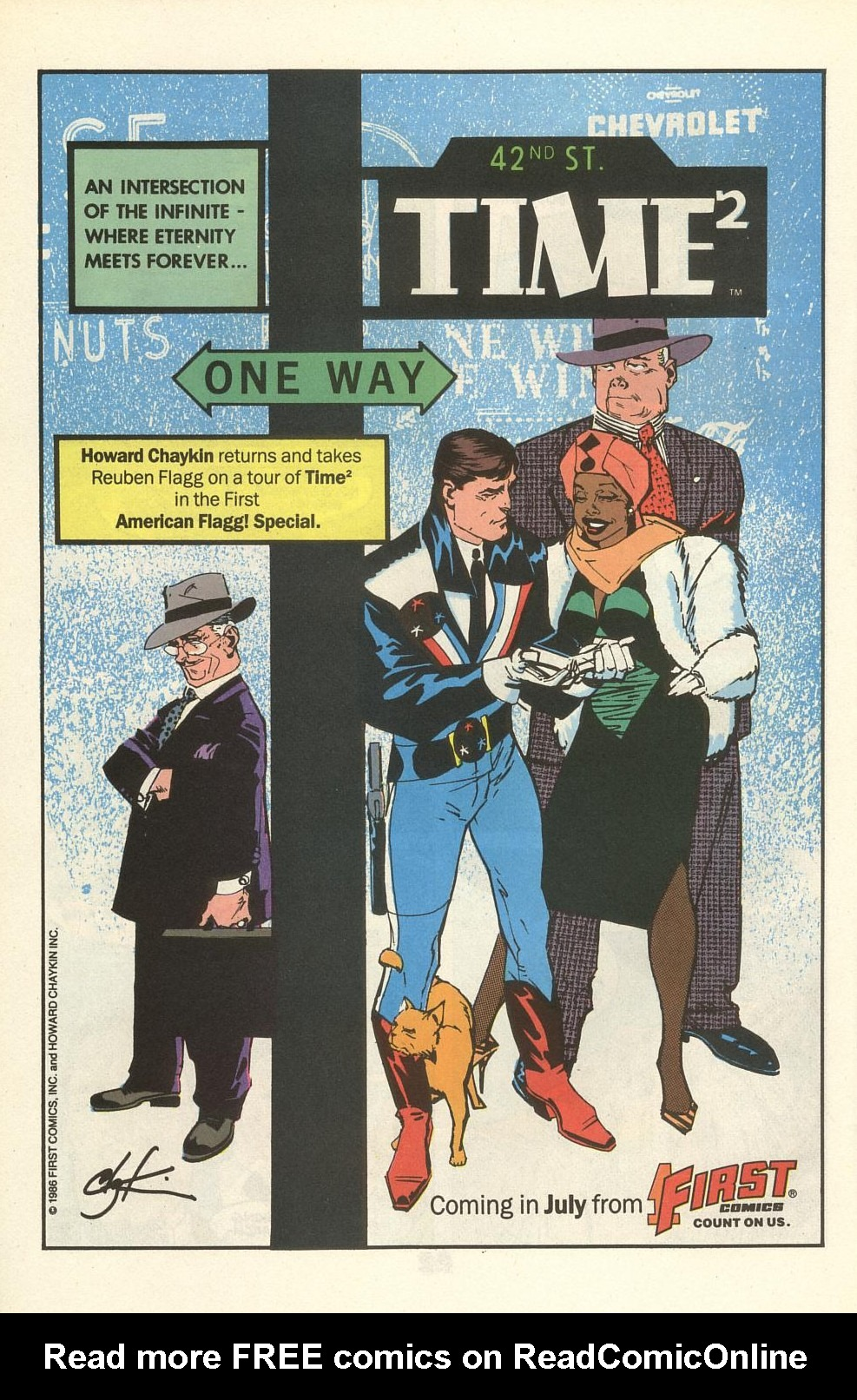 Read online American Flagg! comic -  Issue #34 - 28