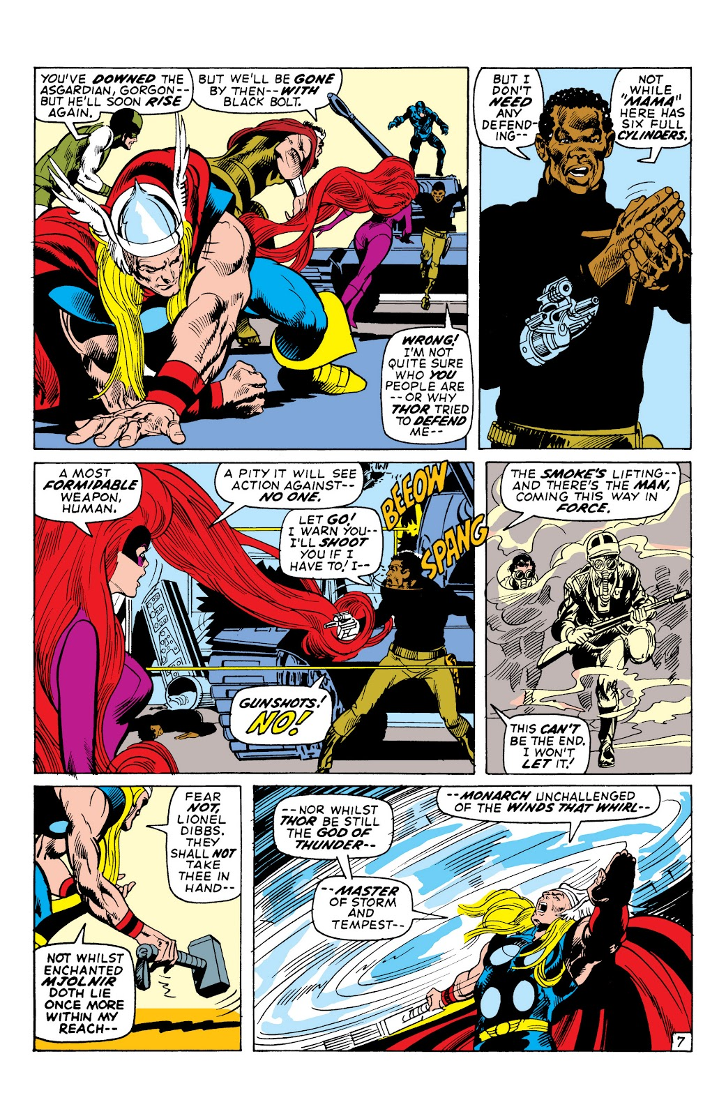 Read online Marvel Masterworks: The Inhumans comic -  Issue # TPB 1 (Part 2) - 53