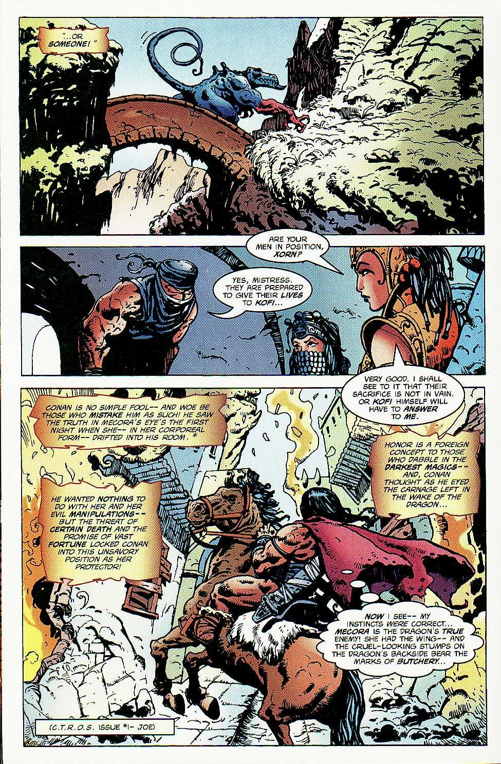 Read online Conan: Return of Styrm comic -  Issue #3 - 17