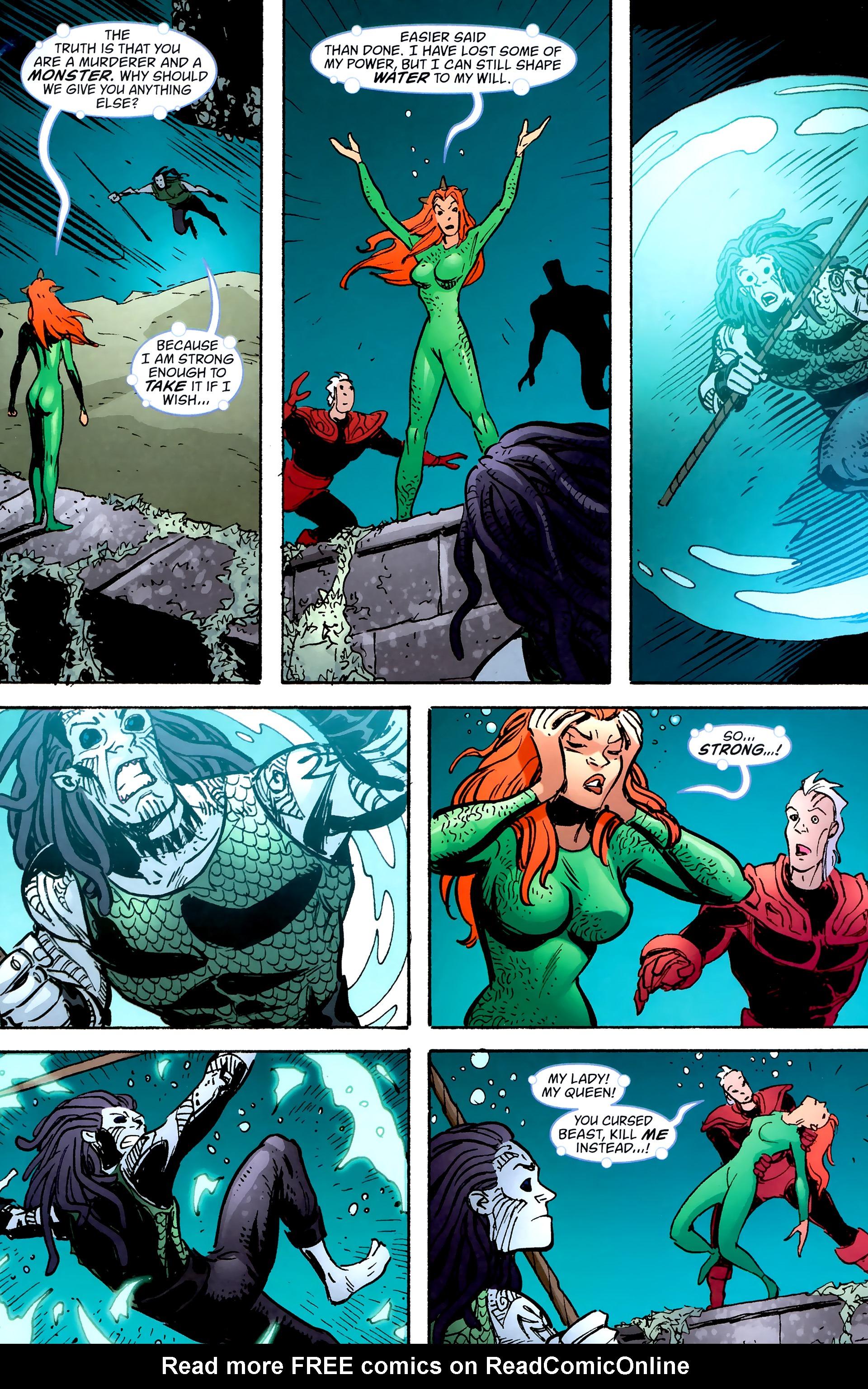 Read online Aquaman: Sword of Atlantis comic -  Issue #57 - 8