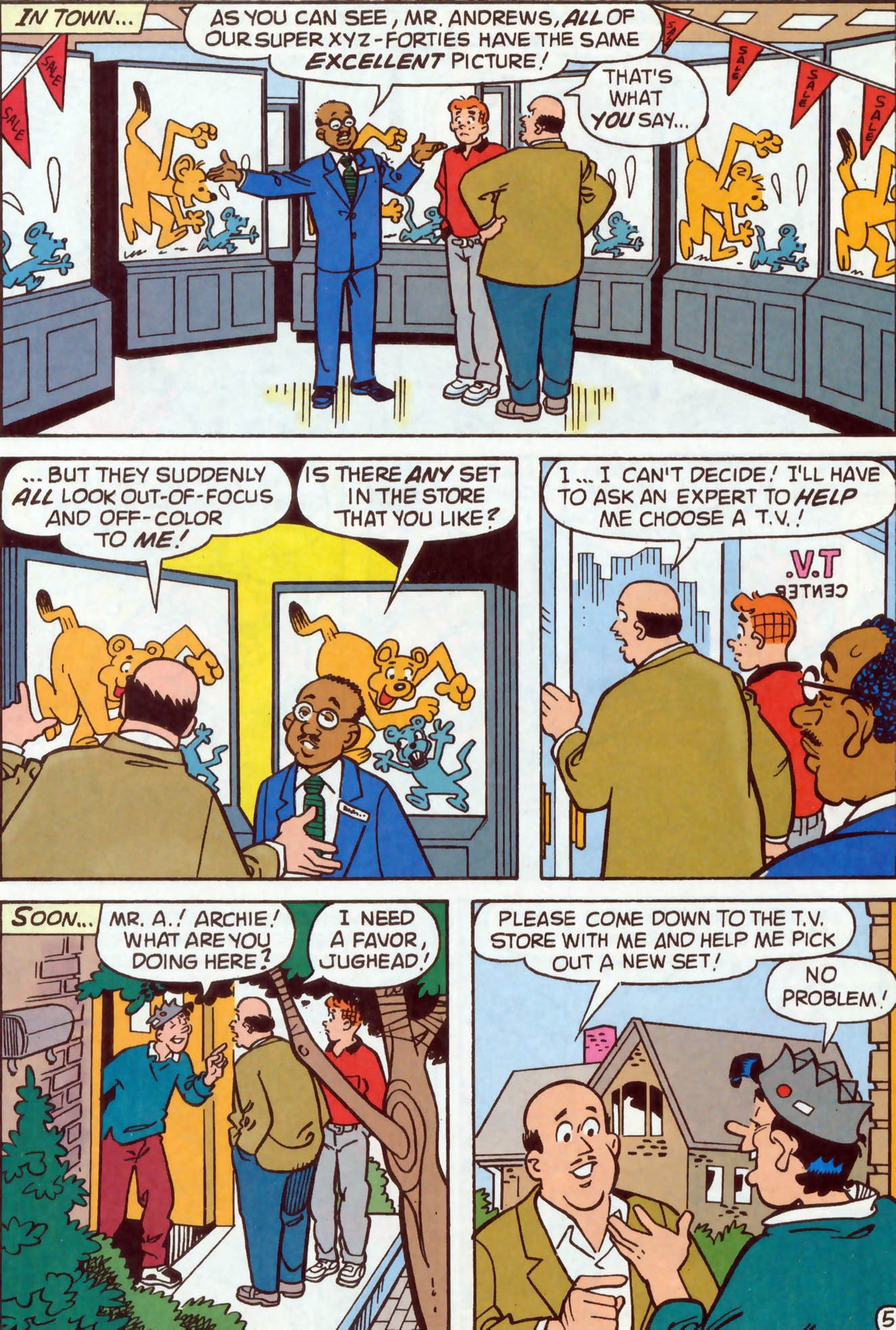 Read online Archie (1960) comic -  Issue #477 - 13
