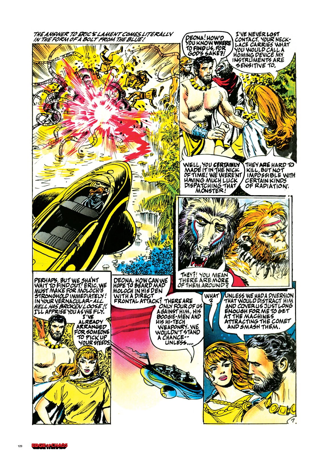 Read online Orion and Edge of Chaos comic -  Issue # TPB - 130