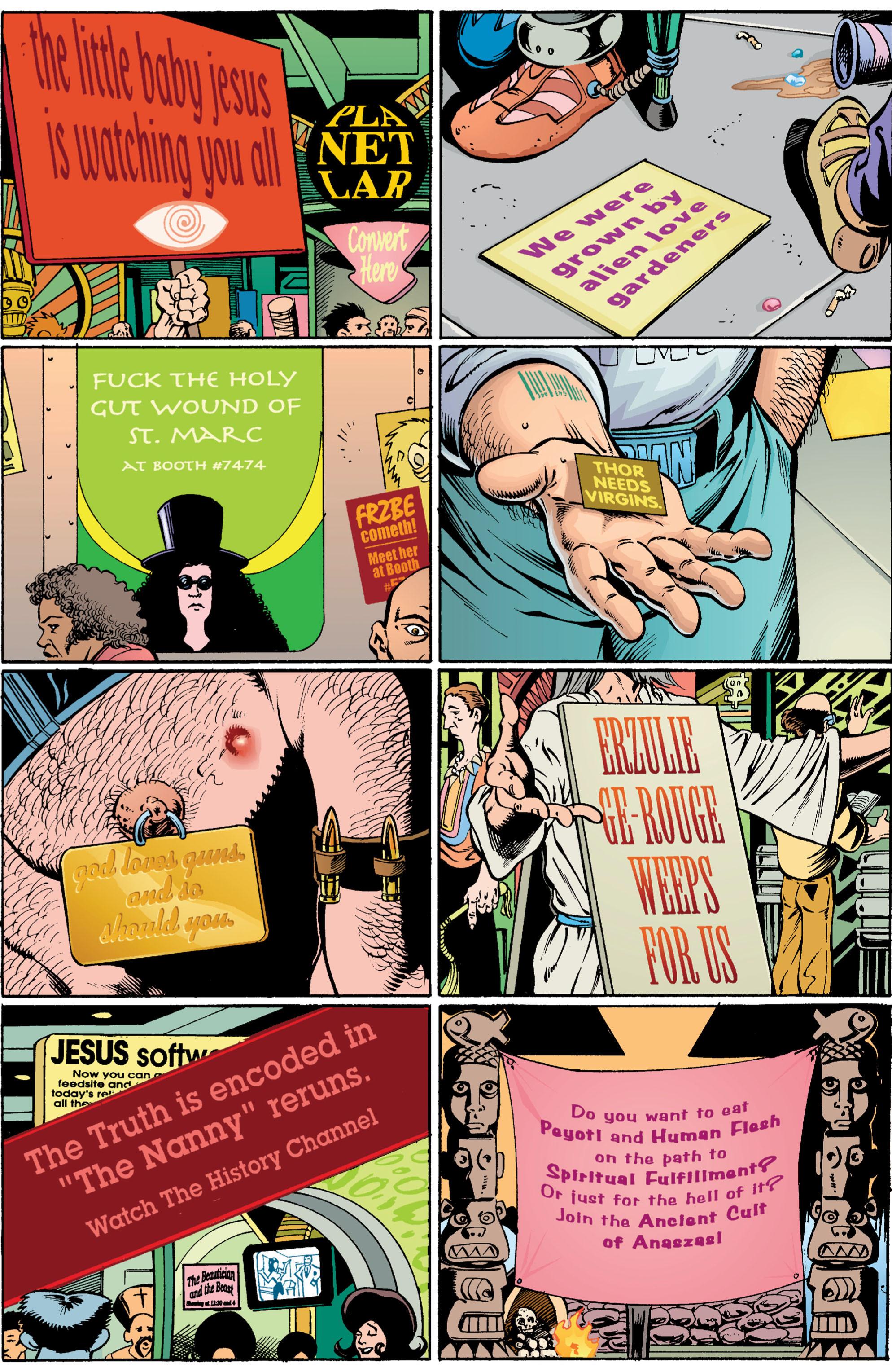 Read online Transmetropolitan comic -  Issue #6 - 14