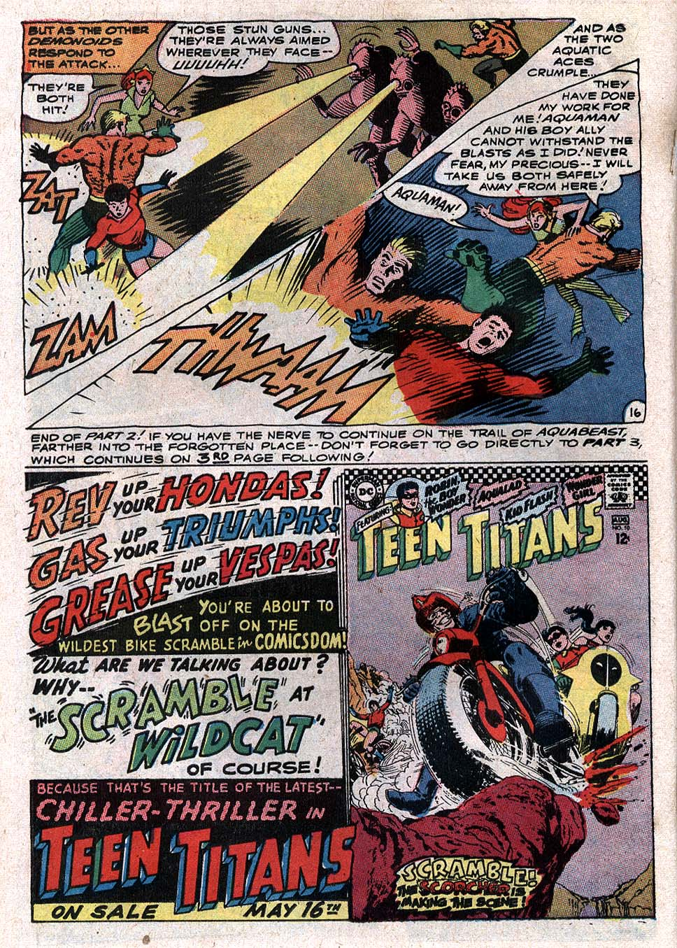 Read online Aquaman (1962) comic -  Issue #34 - 22