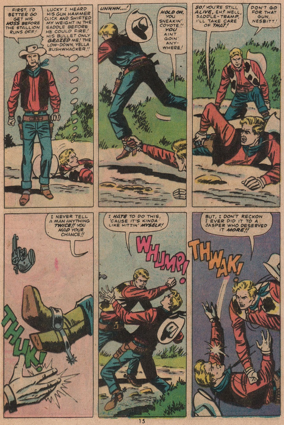 Kid Colt Outlaw issue 187 - Page 16